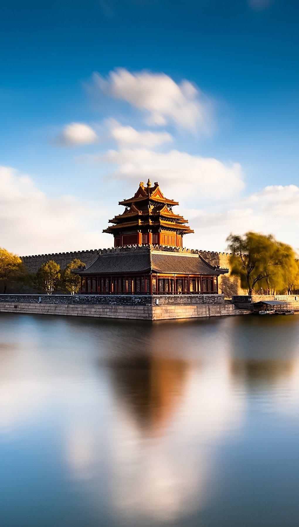 Wallpaper Forbidden city in Beijing Vertical