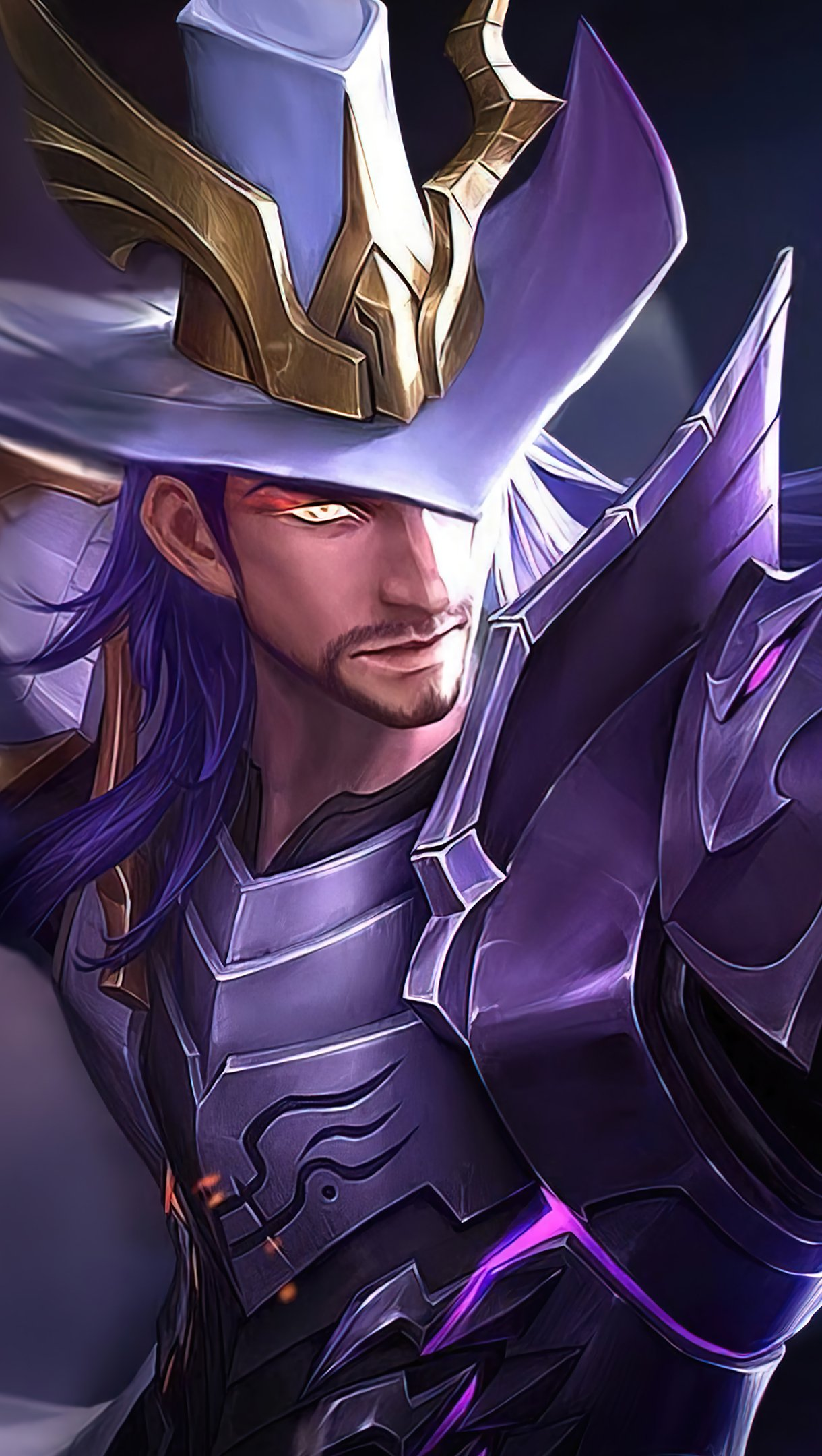 Fondos de pantalla Clint Shadow Omen League of Legends Vertical