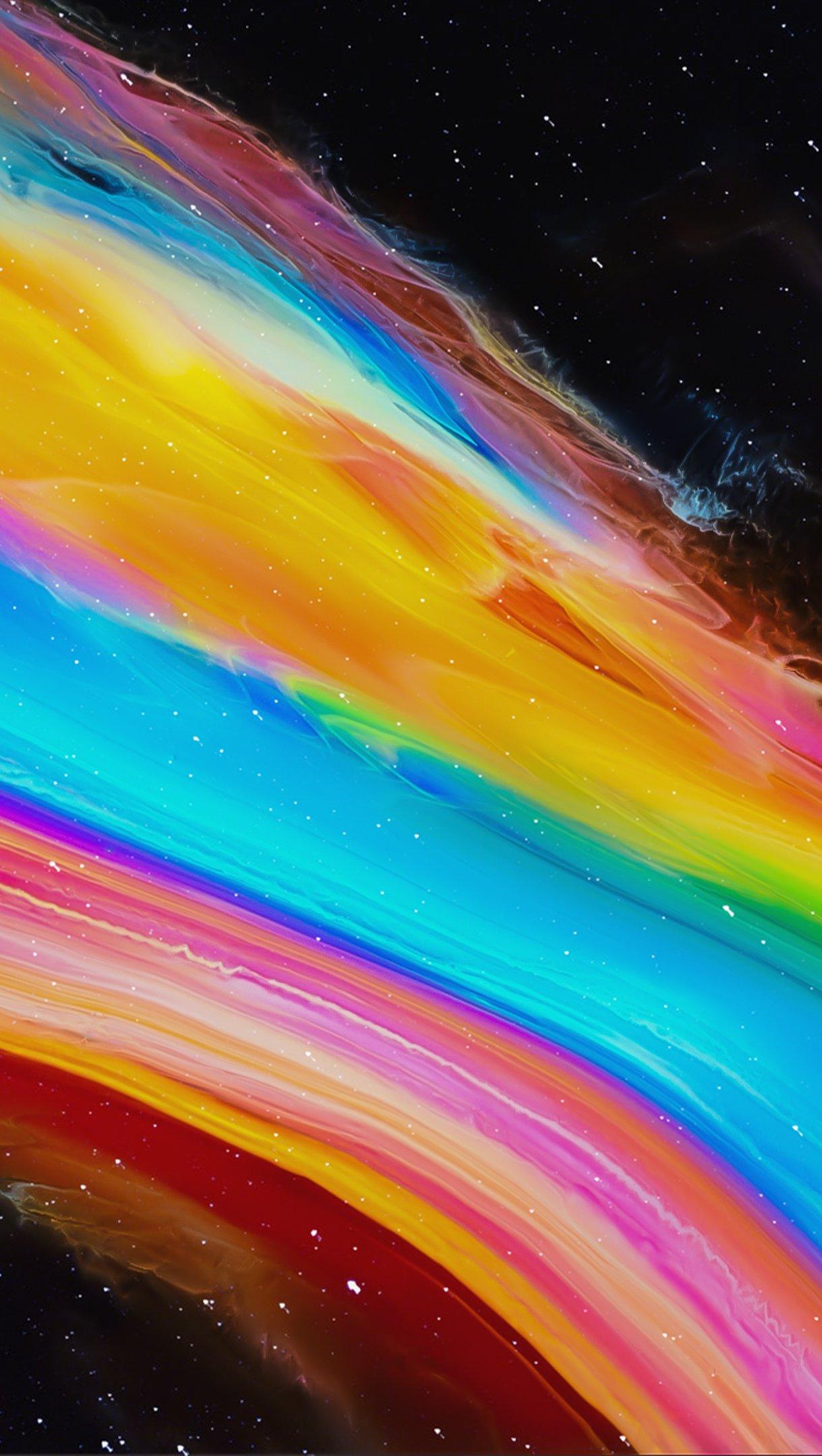 Fondos de pantalla Colores de prisma abstracto Vertical