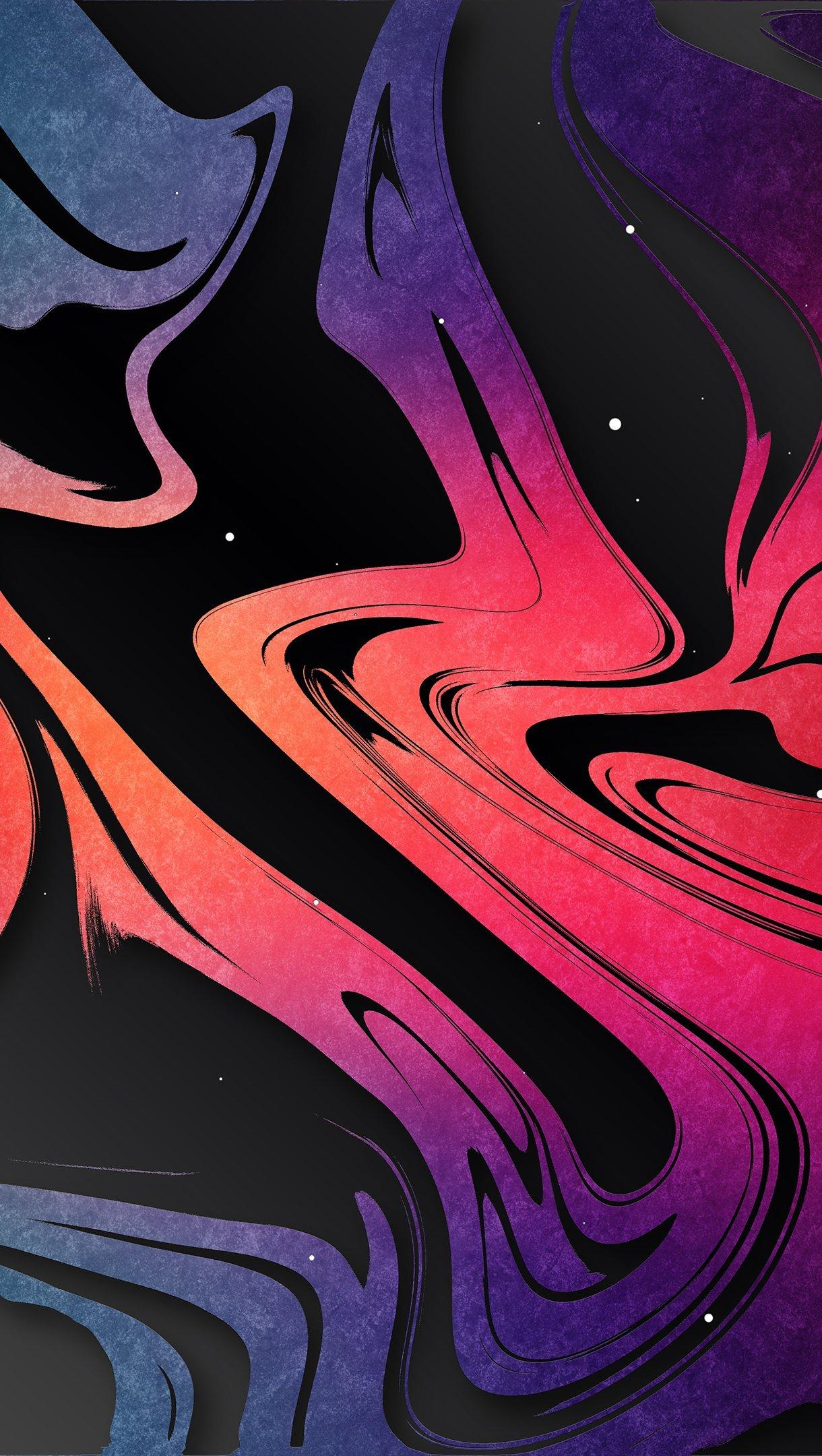 Fondos de pantalla Colores derramados Vertical