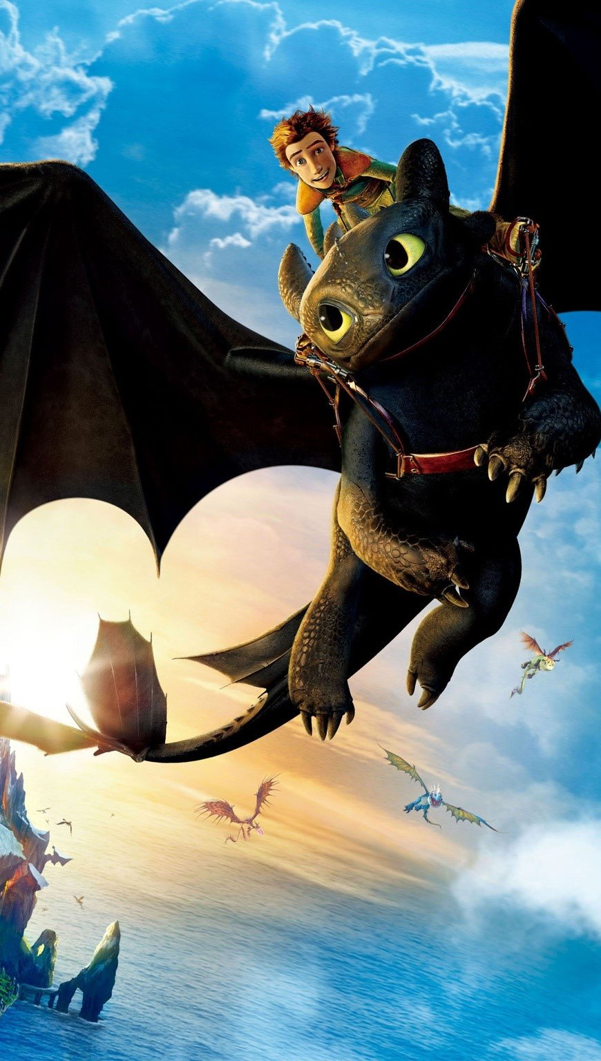 Wallpaper How to Train Your Dragon Vertical
