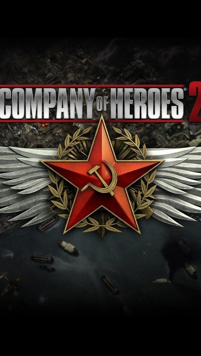 Wallpaper Company of heroes 2 Vertical