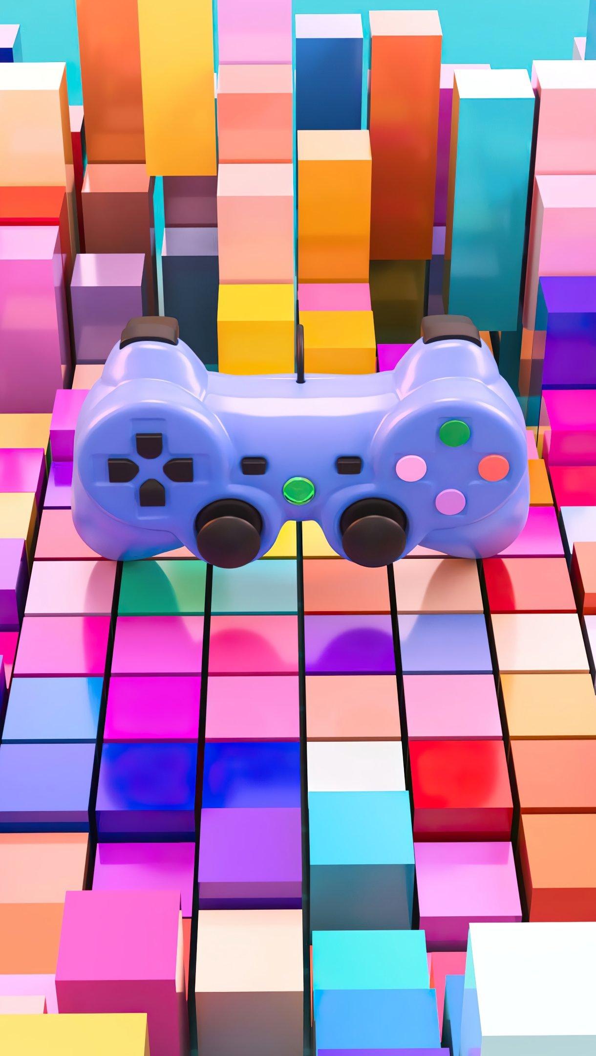 Fondos de pantalla Control de videojuegos Colorido Vertical