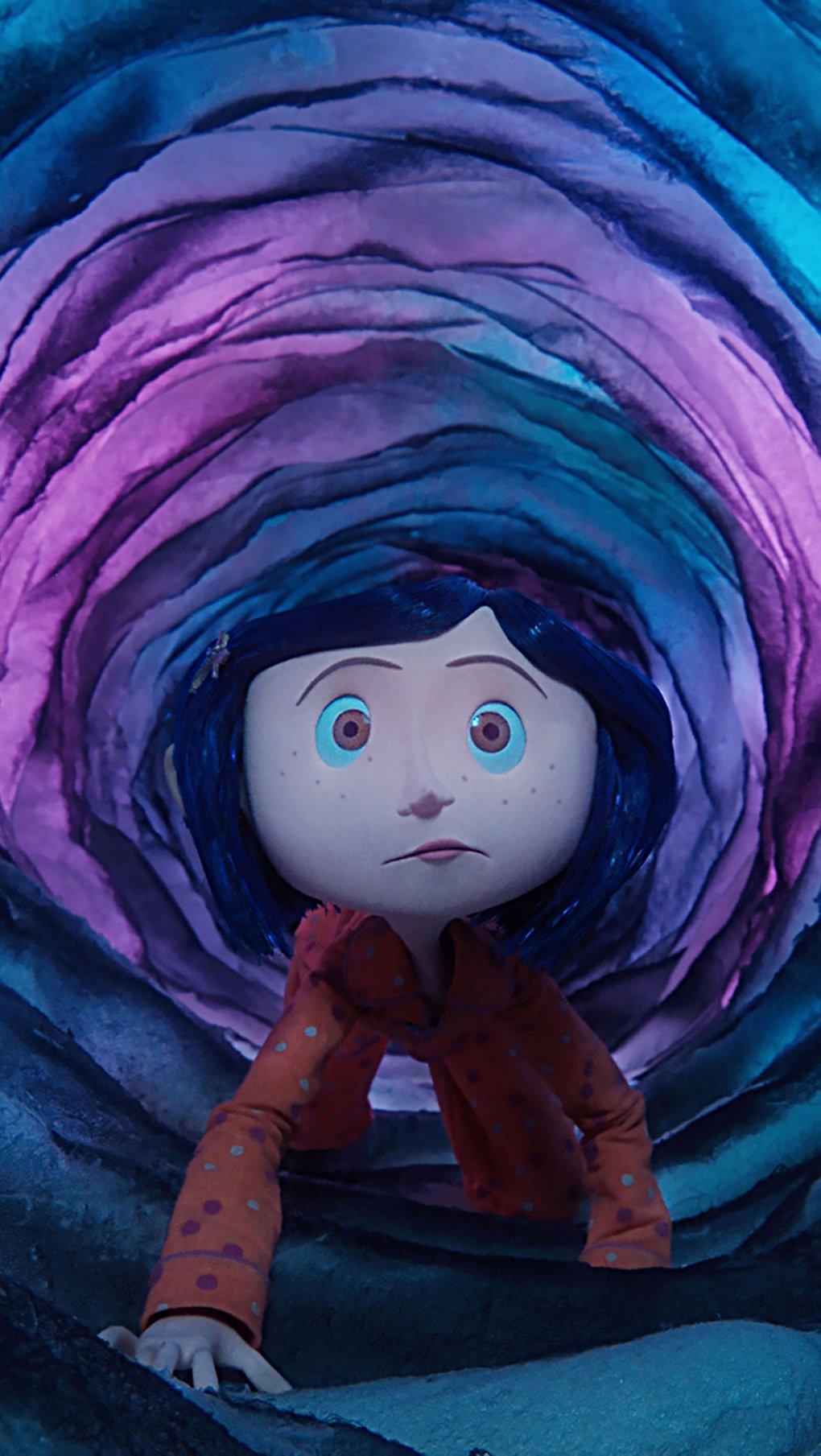 Wallpaper Coraline Movie Vertical