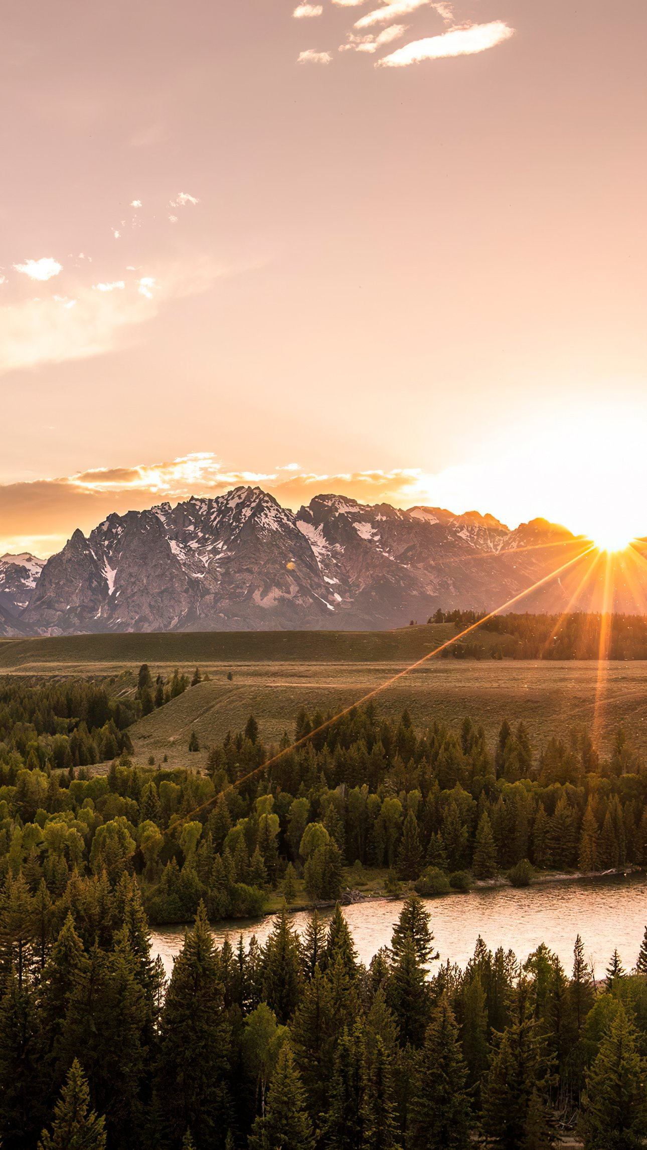Fondos de pantalla Cordillera Teton Vertical