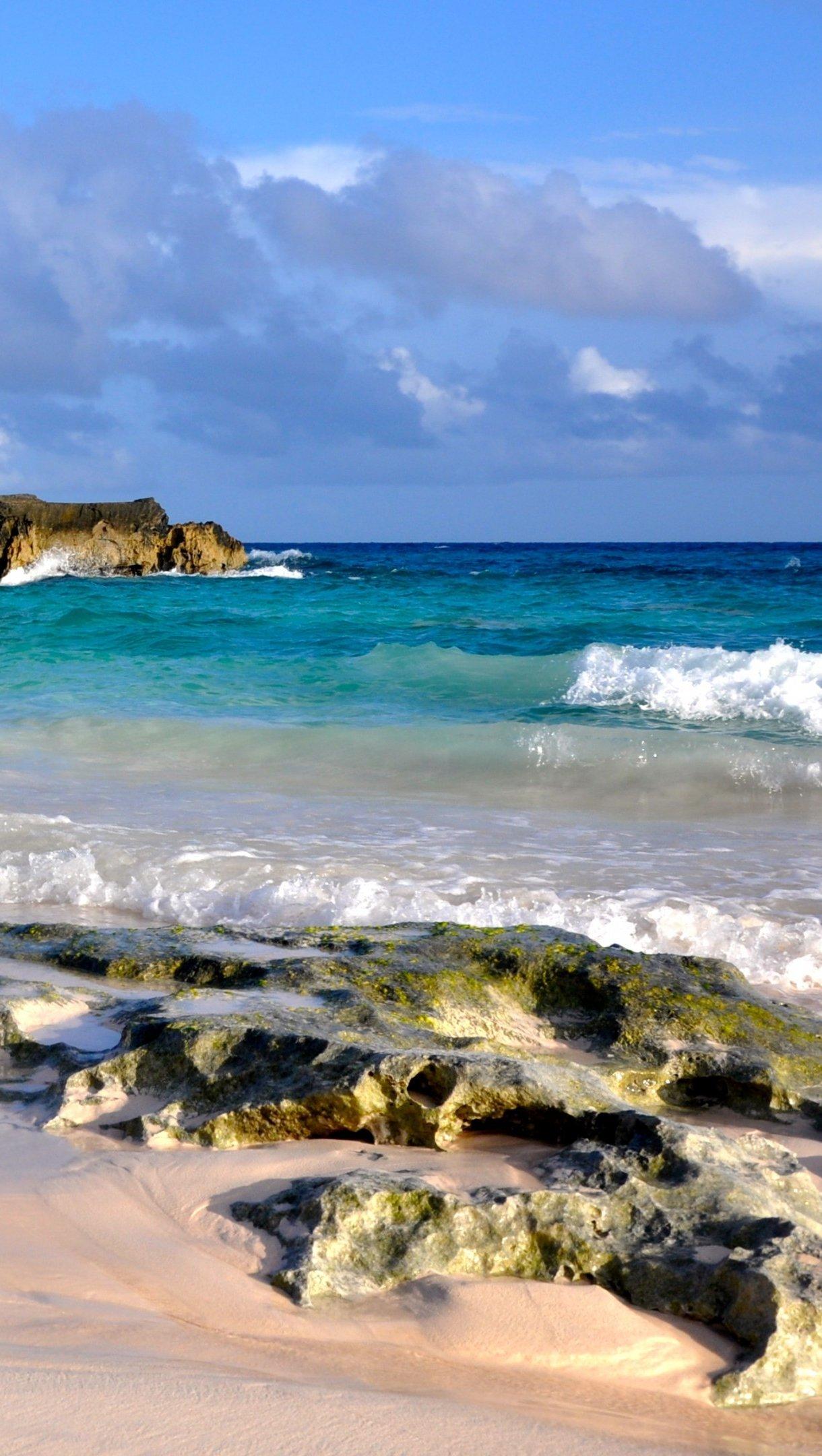 Fondos de pantalla Costa de  la playa Vertical