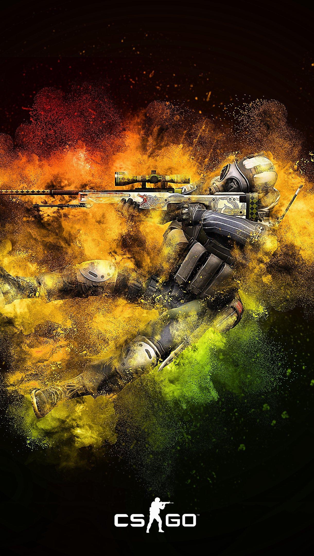 Fondos de pantalla Counter Strike: Global Offensive CSGO Vertical