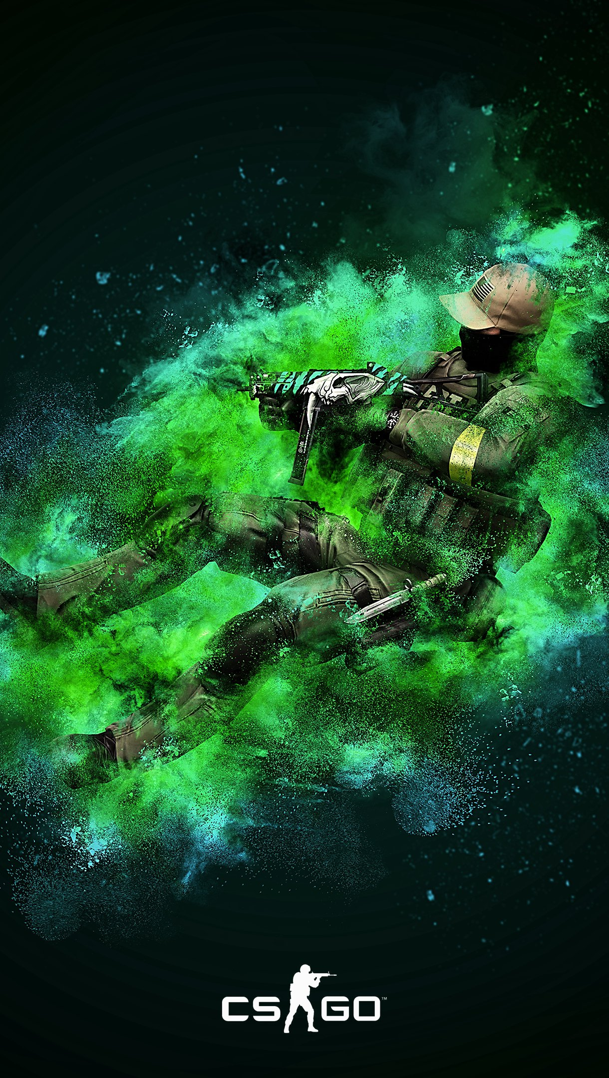 Wallpaper Counter Strike: Global Offensive CSGO Vertical