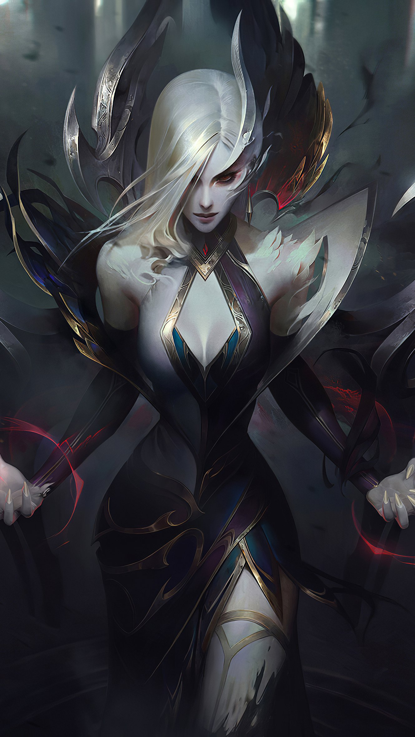 Fondos de pantalla Coven Morgana de League of Legends Vertical