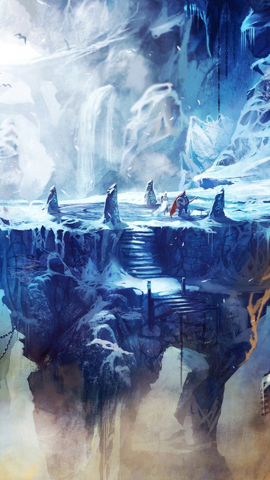 Wallpaper Cave frozen in trine 2 Vertical