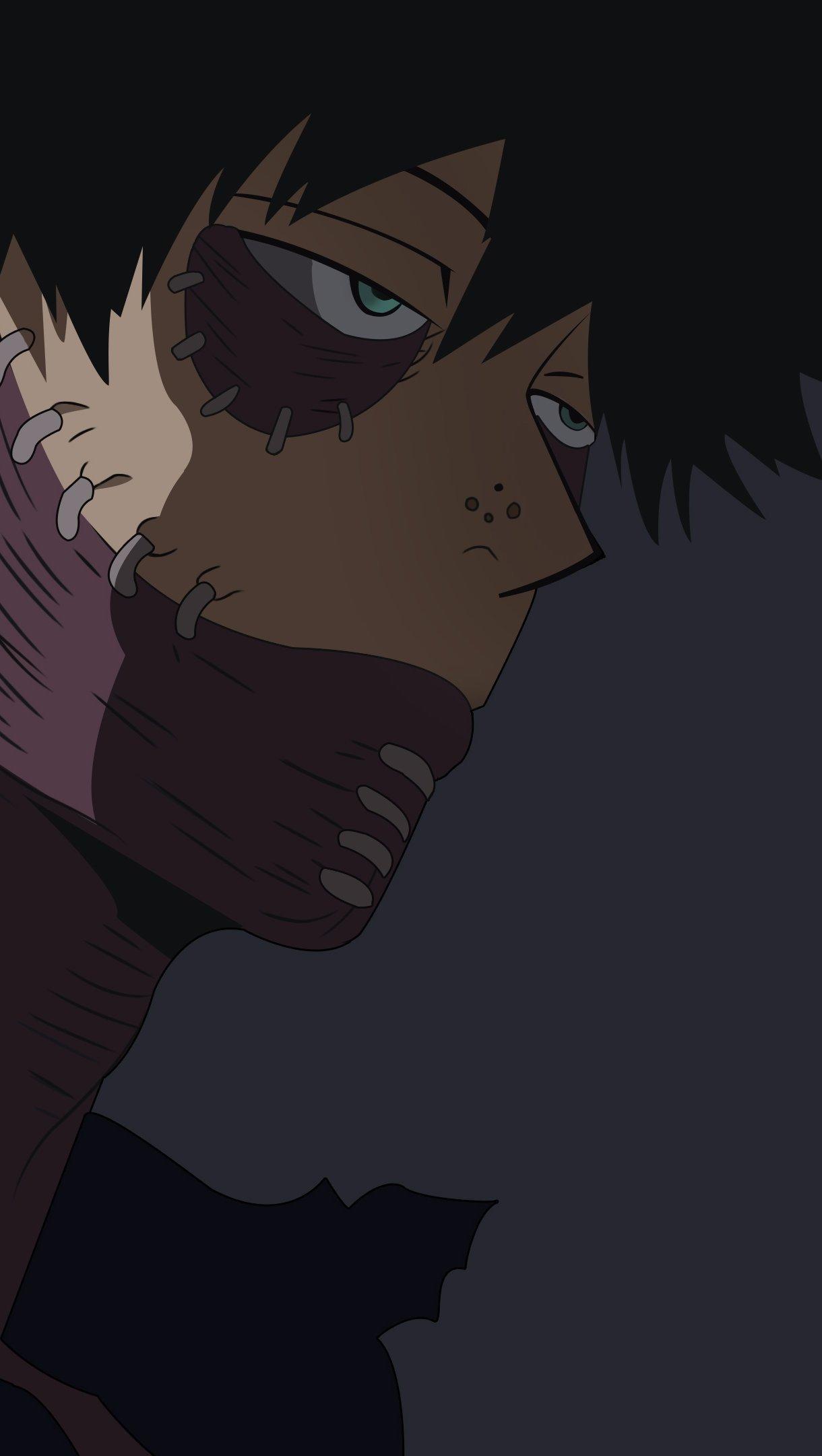 Fondos de pantalla Anime Dabi My Hero Academia Vertical