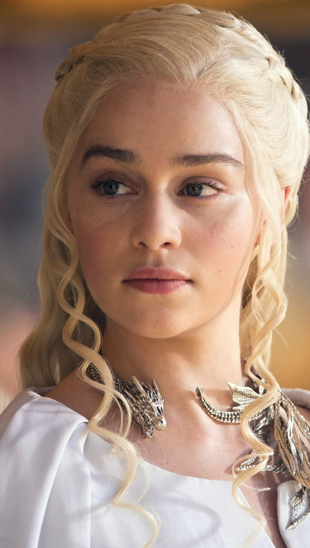 Wallpaper Daenerys Stomborn in Game of Thrones Vertical