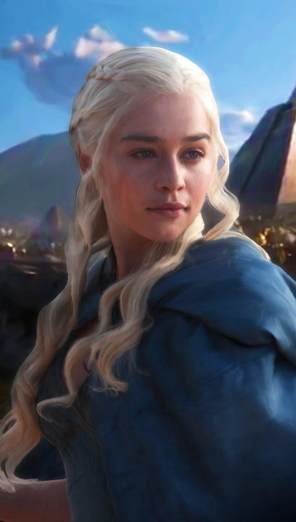 Wallpaper Daenerys Targaryen Vertical