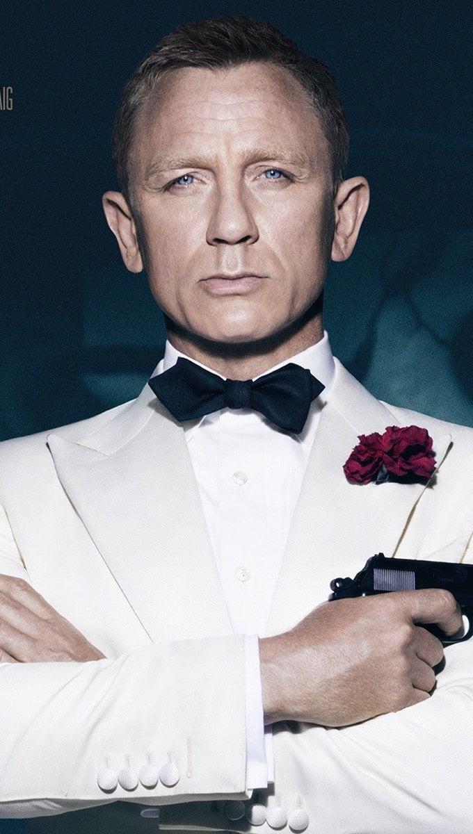 Wallpaper Daniel Craig of Specter Vertical