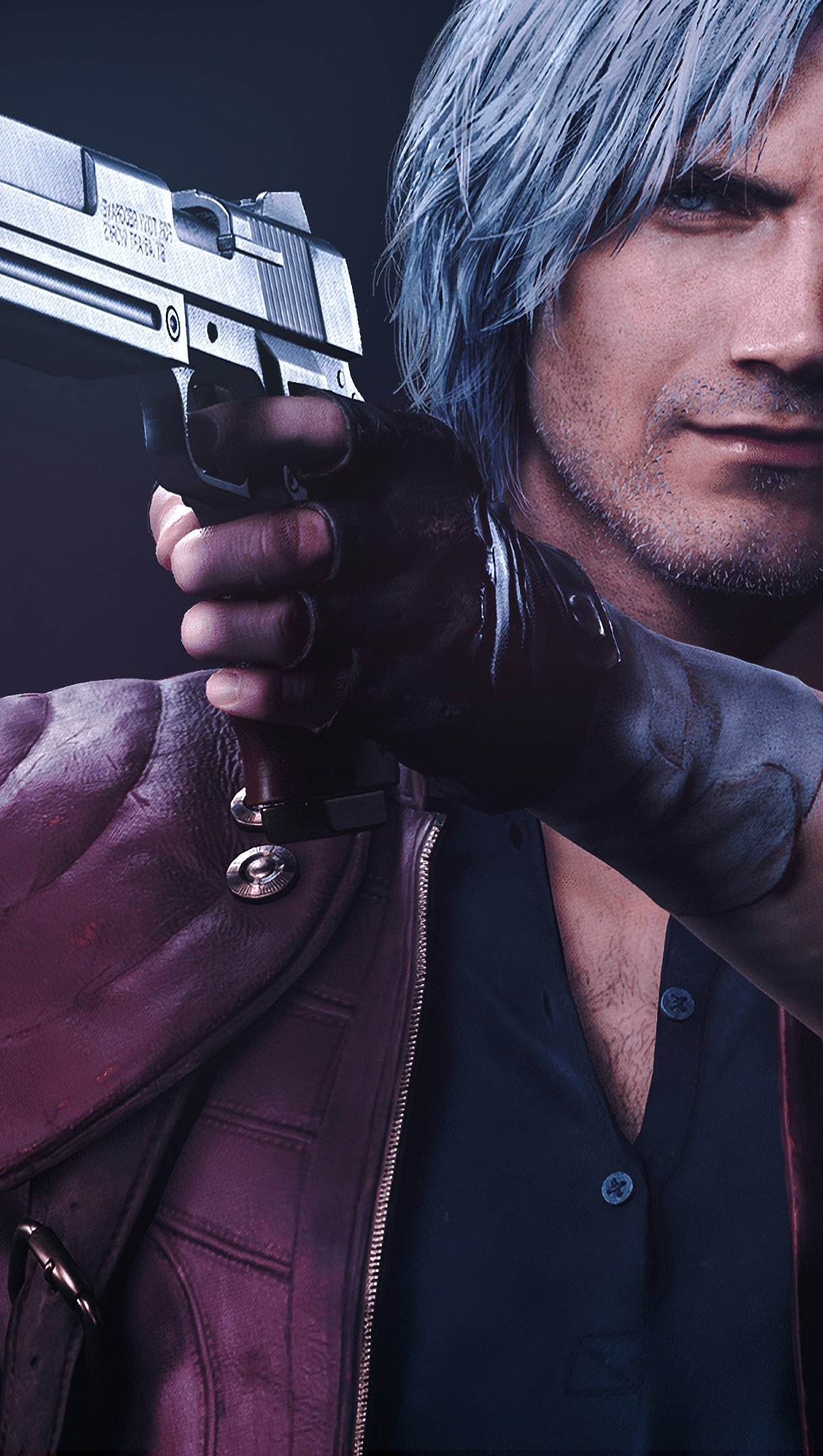 Fondos de pantalla Dante de Devil May Cry 5 Vertical