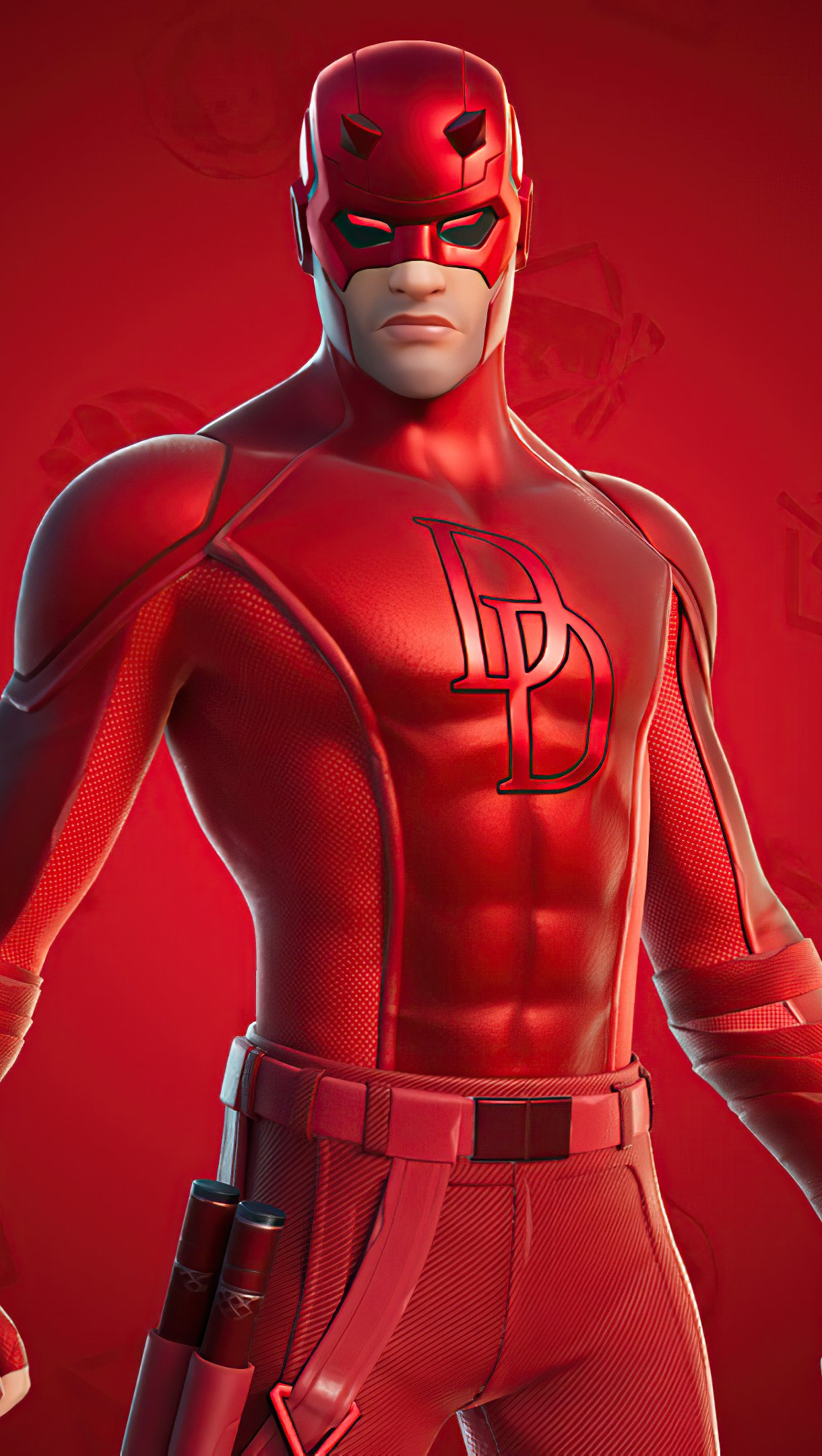 Wallpaper Daredevil Fortnite Style 2020 Vertical