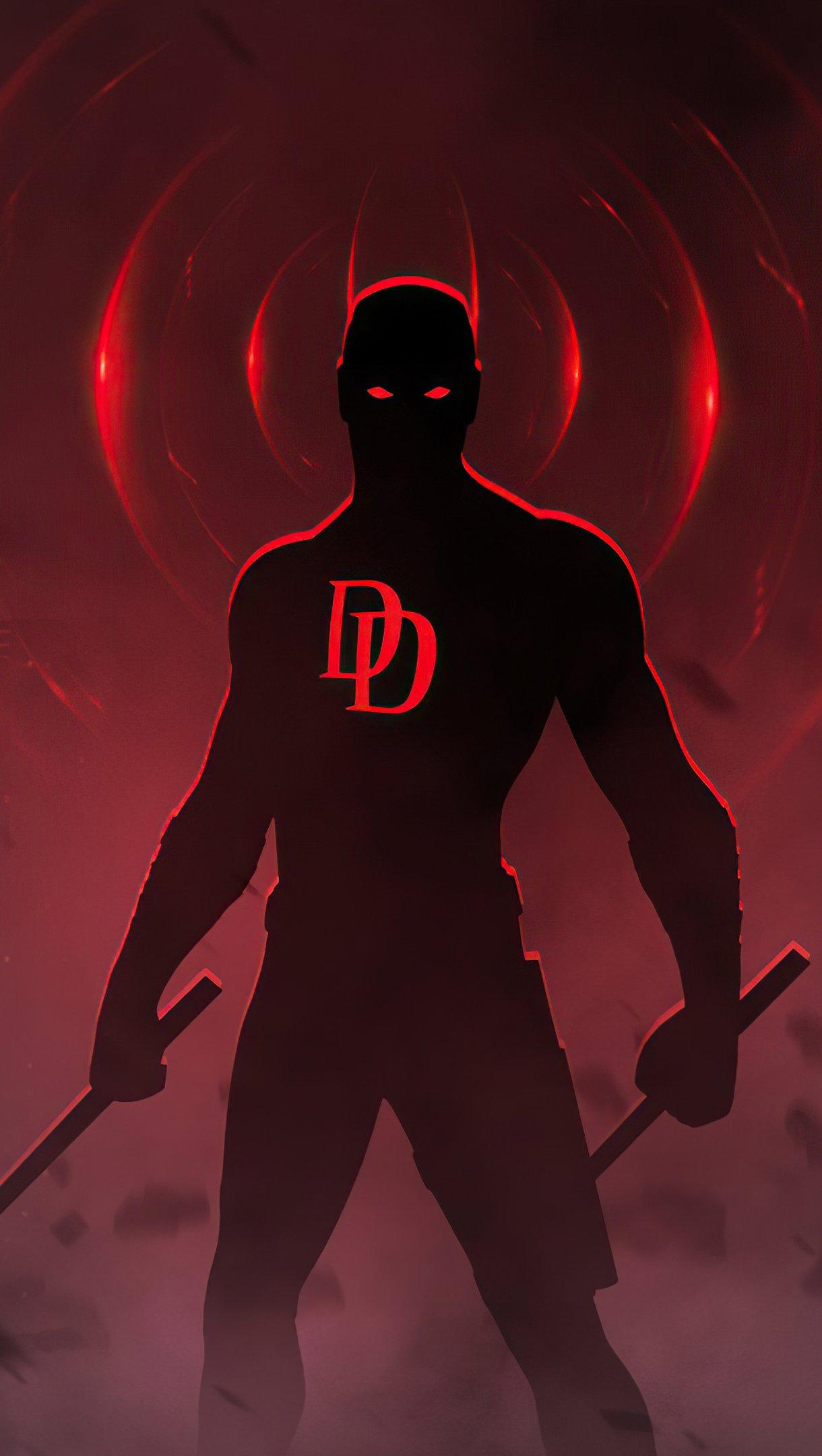 Fondos de pantalla Daredevill fanart Vertical