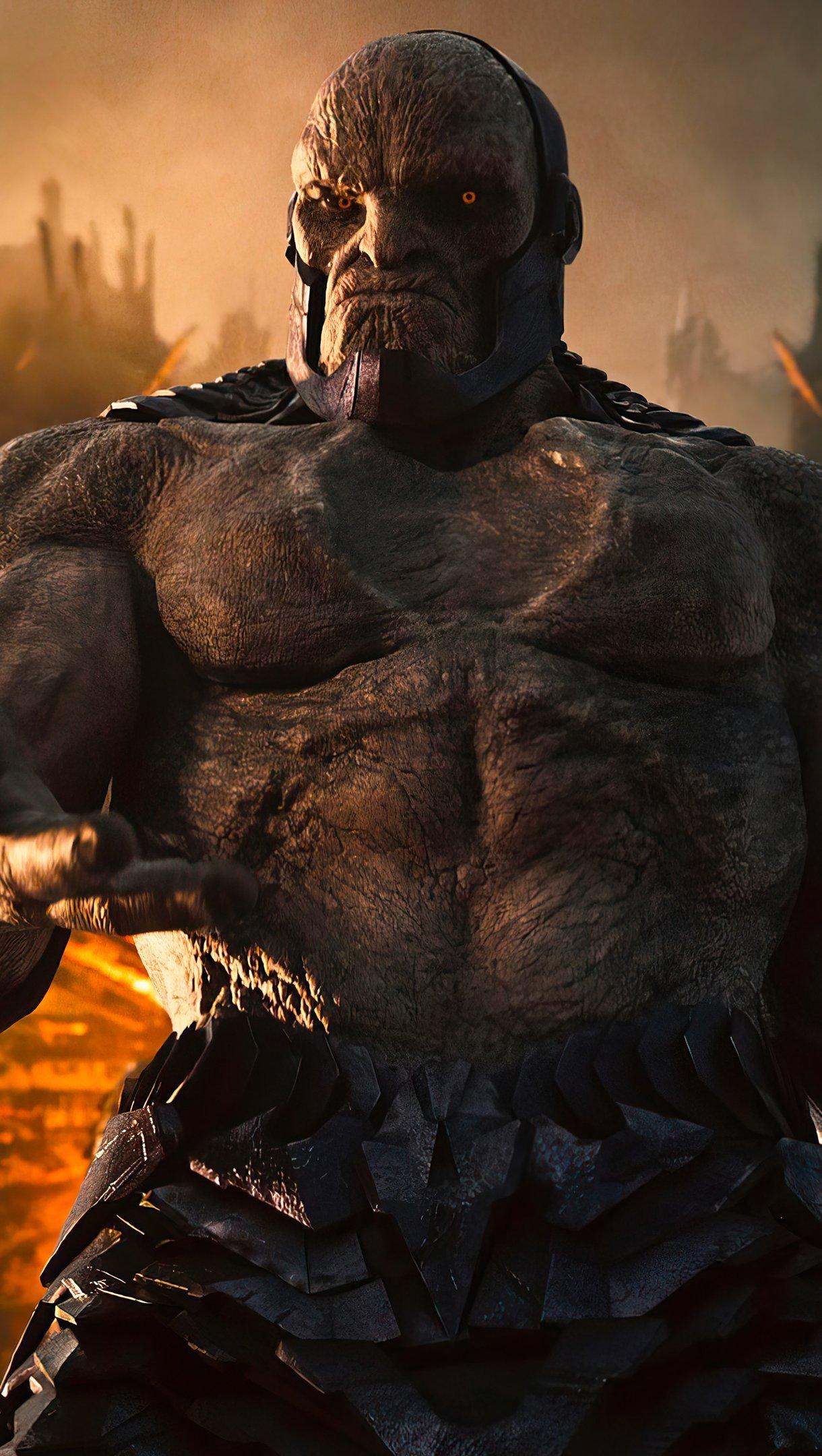 Fondos de pantalla Darkseid Liga de la justicia 2021 Snyder's cut Vertical