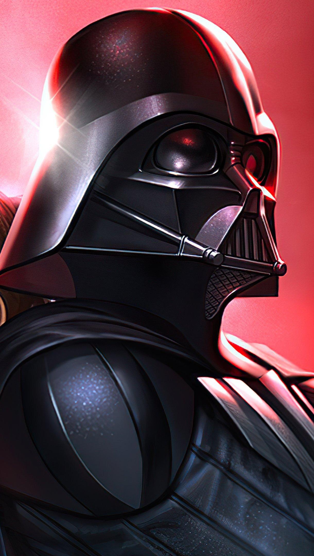 Wallpaper Darth Vader Star Wars Vertical
