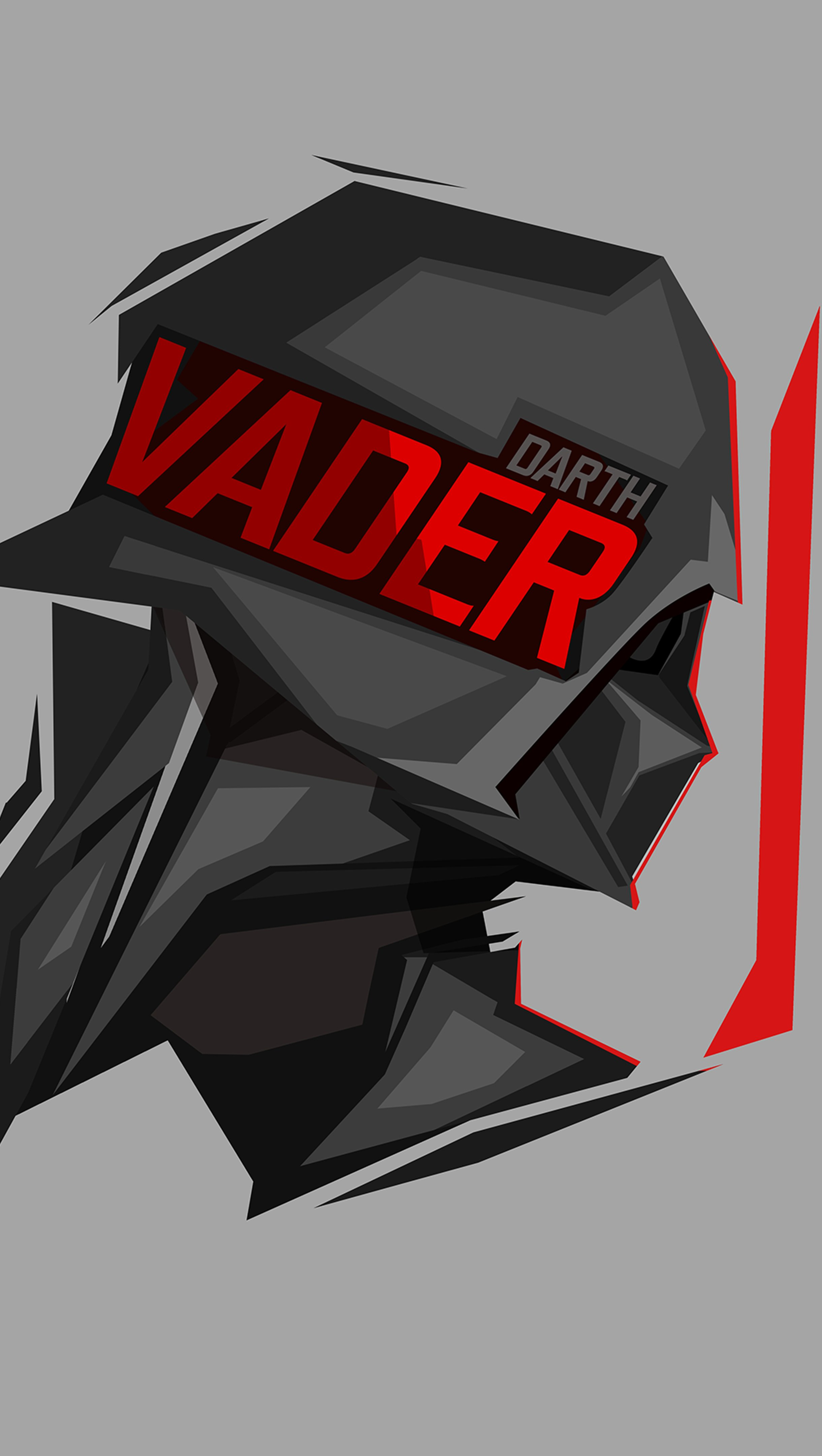 Fondos de pantalla Darth Vader Star Wars Ilustración Vertical
