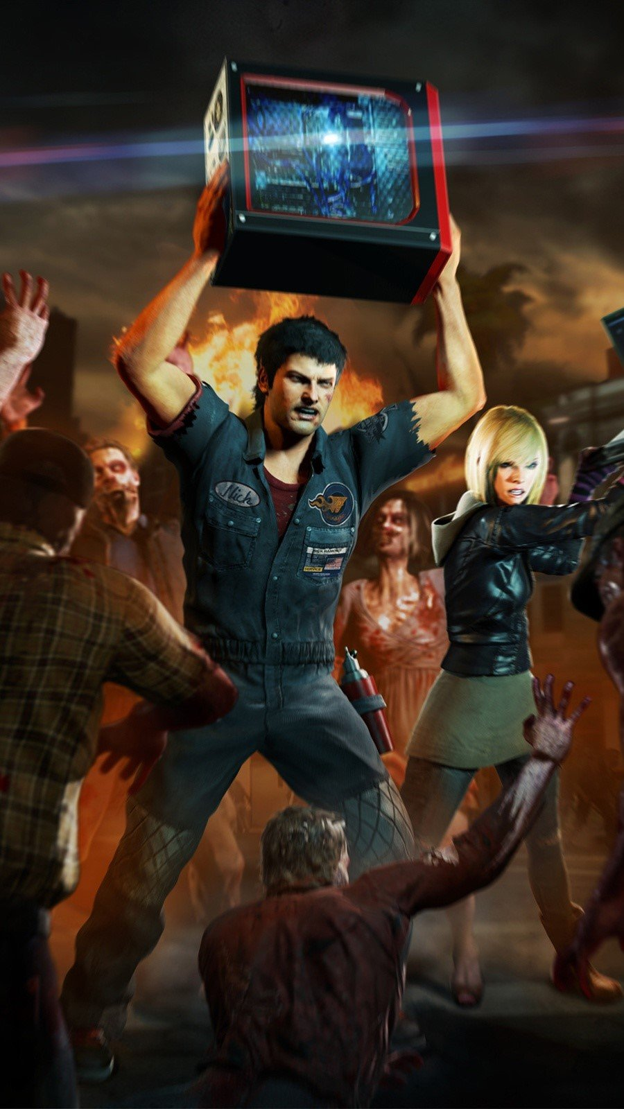 Wallpaper Dead Rising 3 Vertical