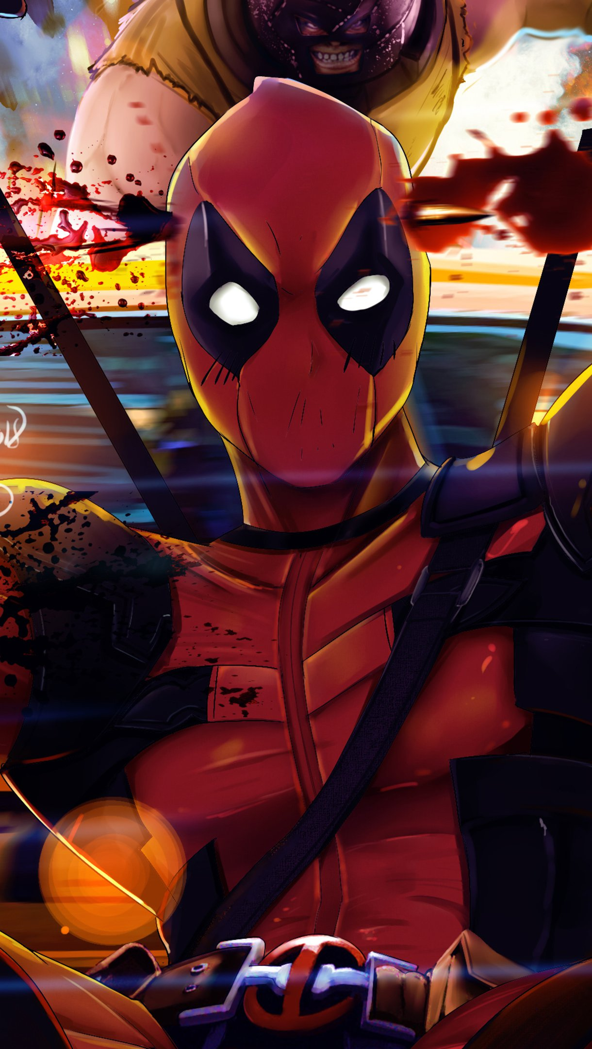 Fondos de pantalla Deadpool 2 Artwork Vertical