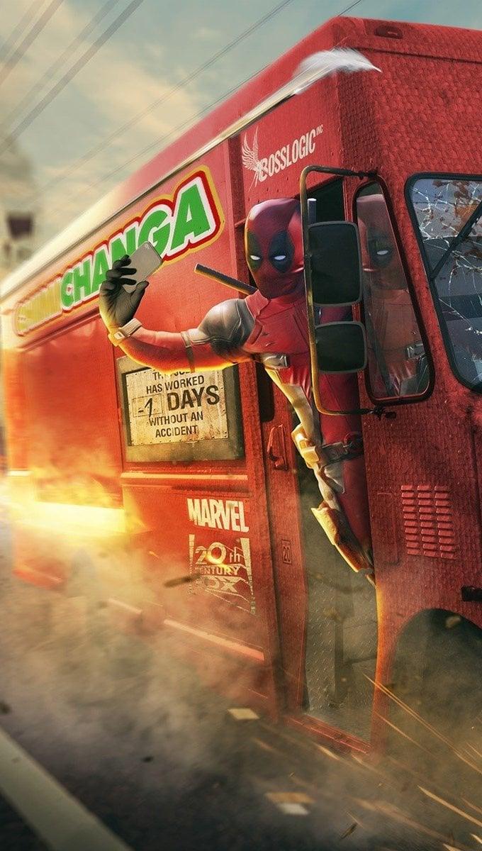 Wallpaper Deadpool by Marvel Vertical