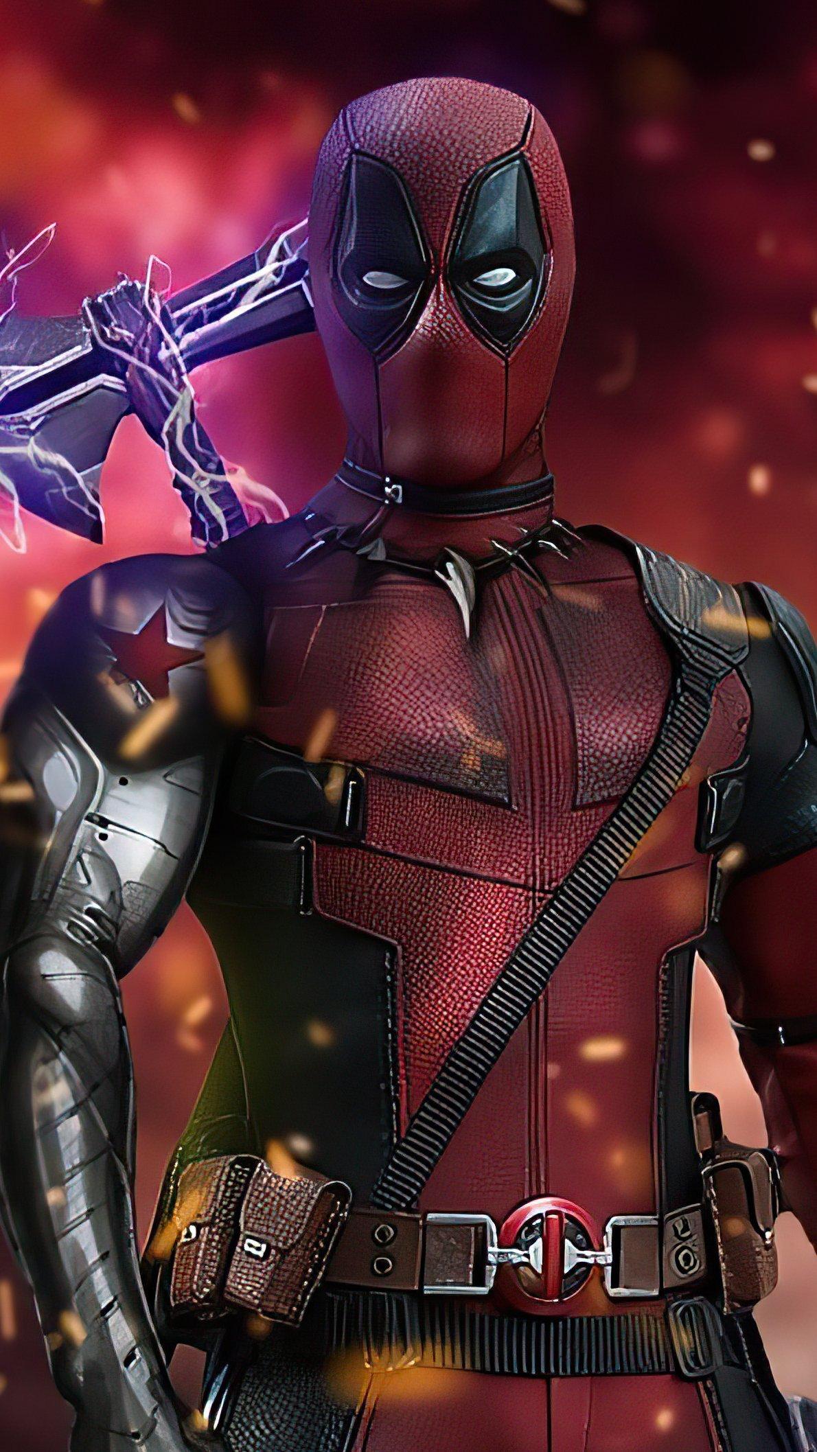 Fondos de pantalla Deadpool stormbreaker Vertical