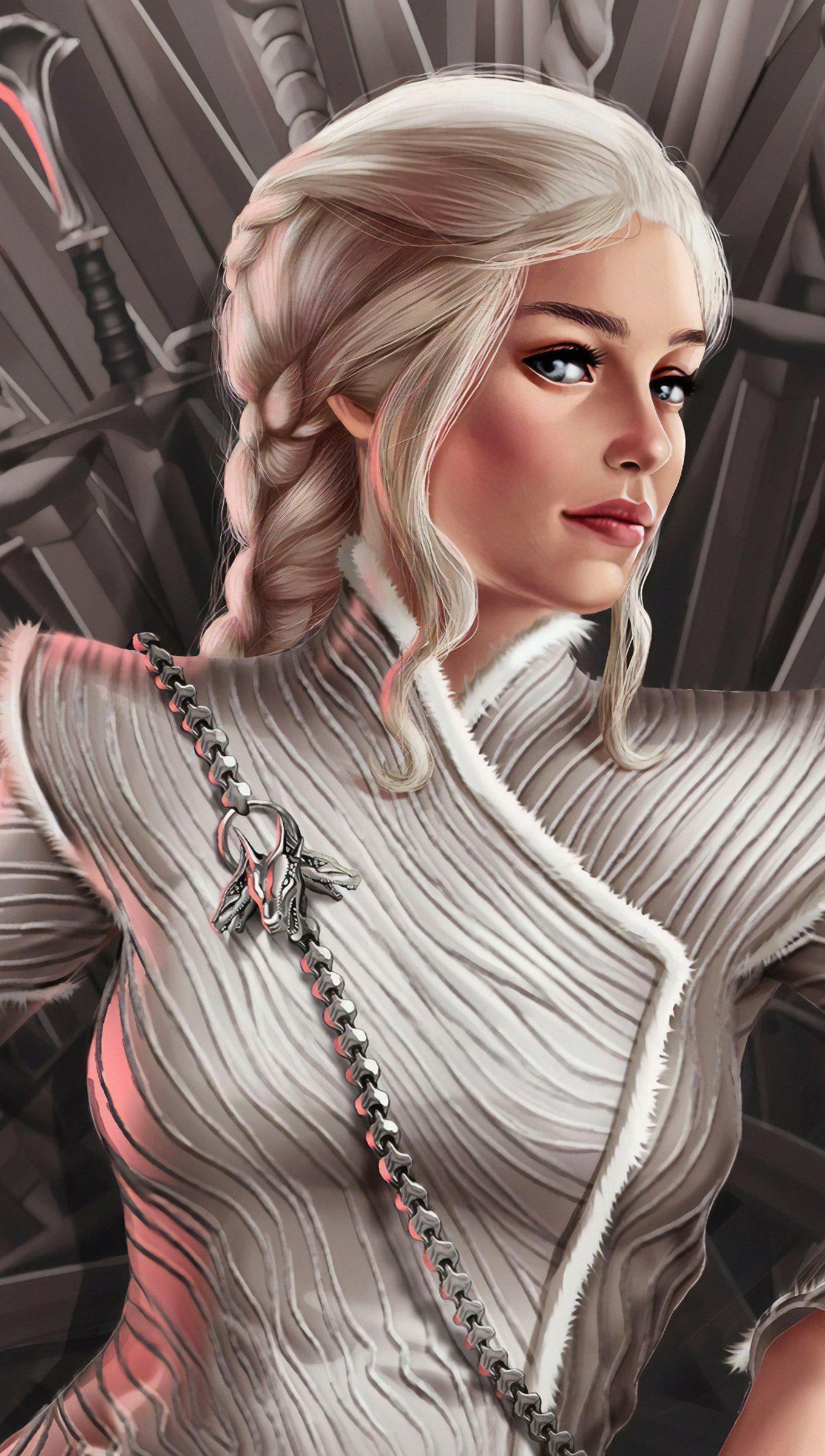 Fondos de pantalla Deanerys Targaryen Fanart Vertical