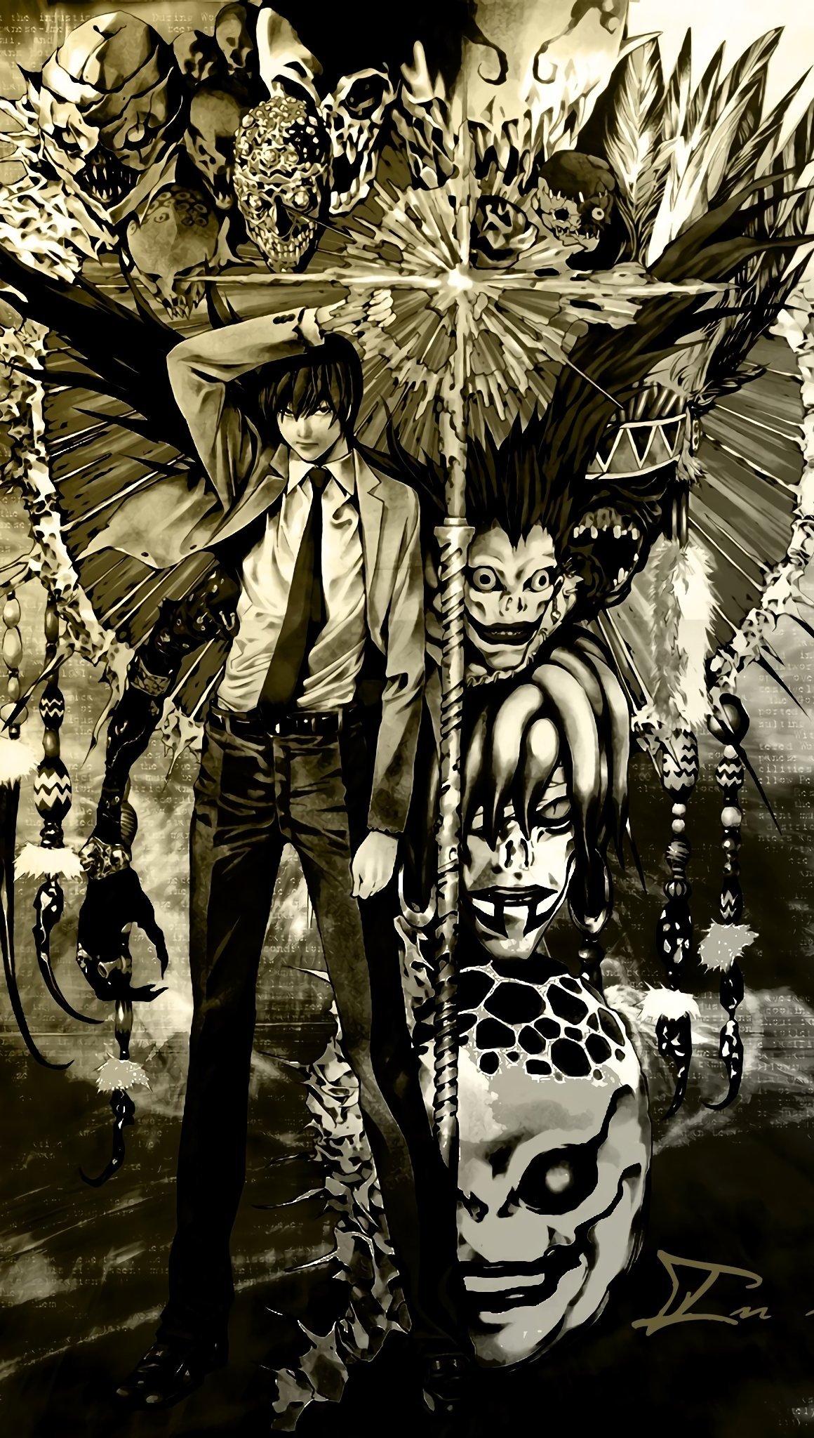 Fondos de pantalla Anime Death Note Vertical