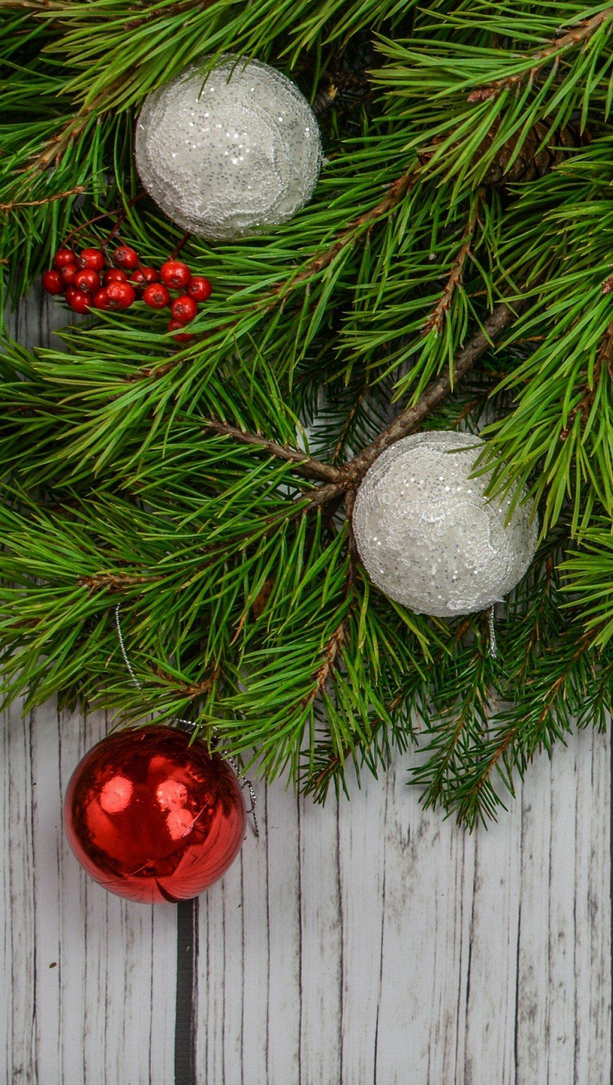 Fondos de pantalla Decoración Navidad y Año nuevo Vertical