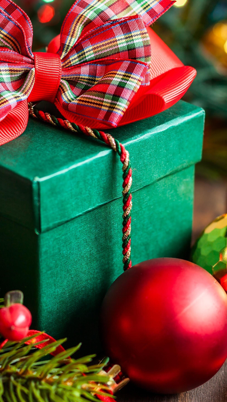 Fondos de pantalla Decoración y regalo de navidad Vertical