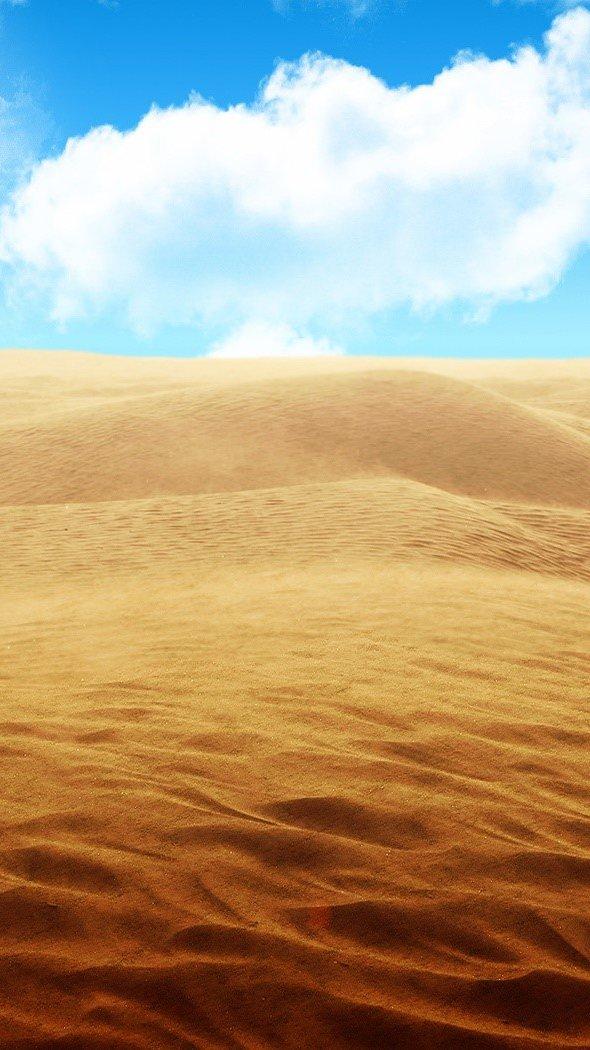 Fondos de pantalla Desierto Vertical