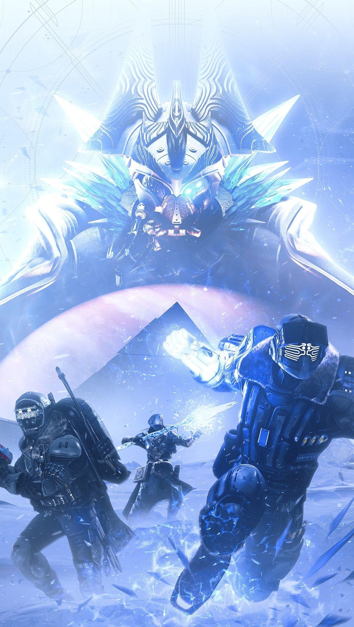 Wallpaper Destiny 2 Beyond Light 2020 Vertical
