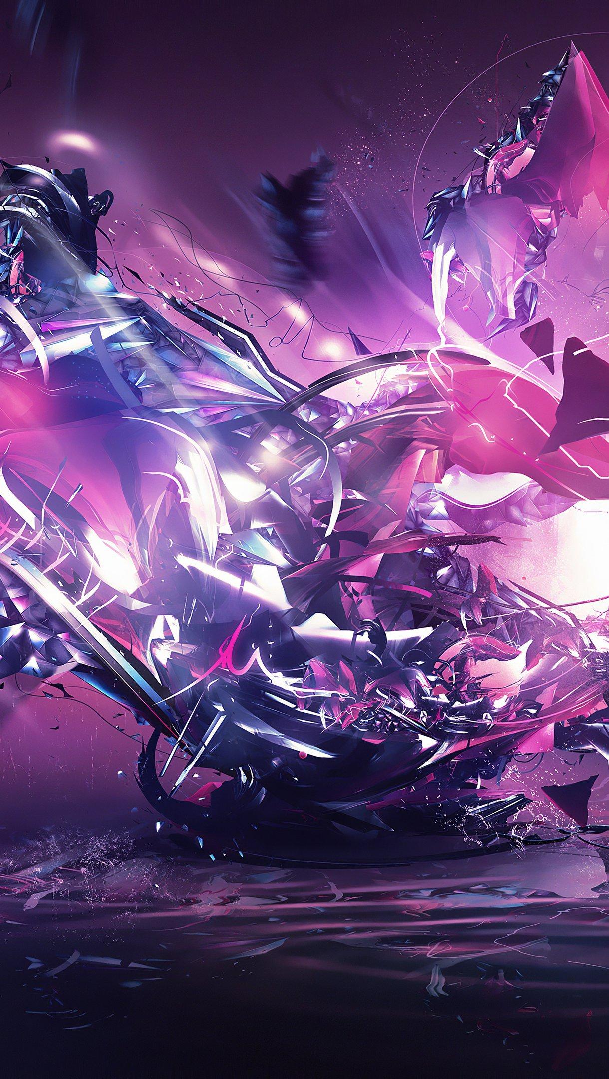 Wallpaper Destruction splash Vertical