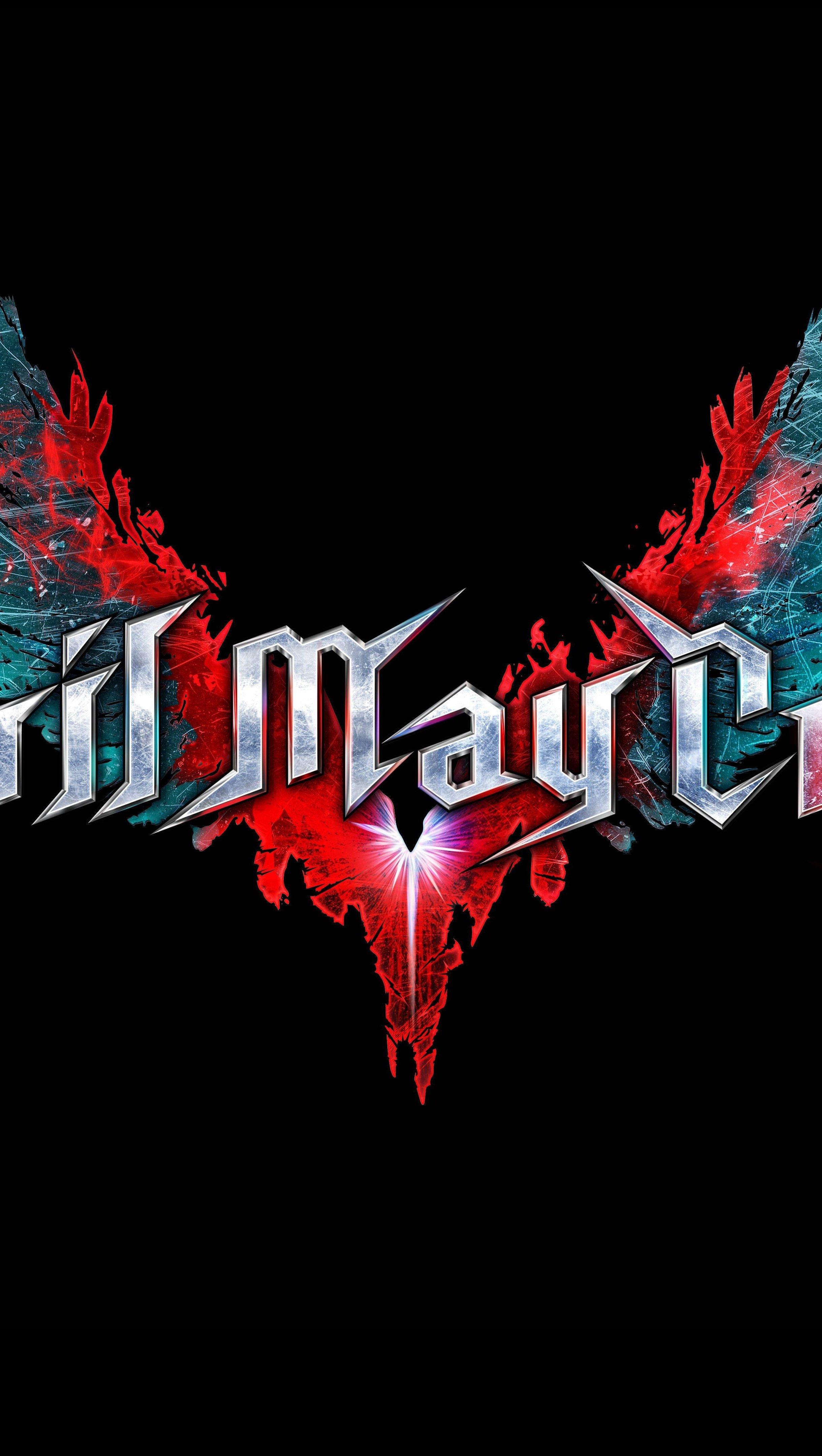 Fondos de pantalla Devil May Cry 5 Logo Vertical