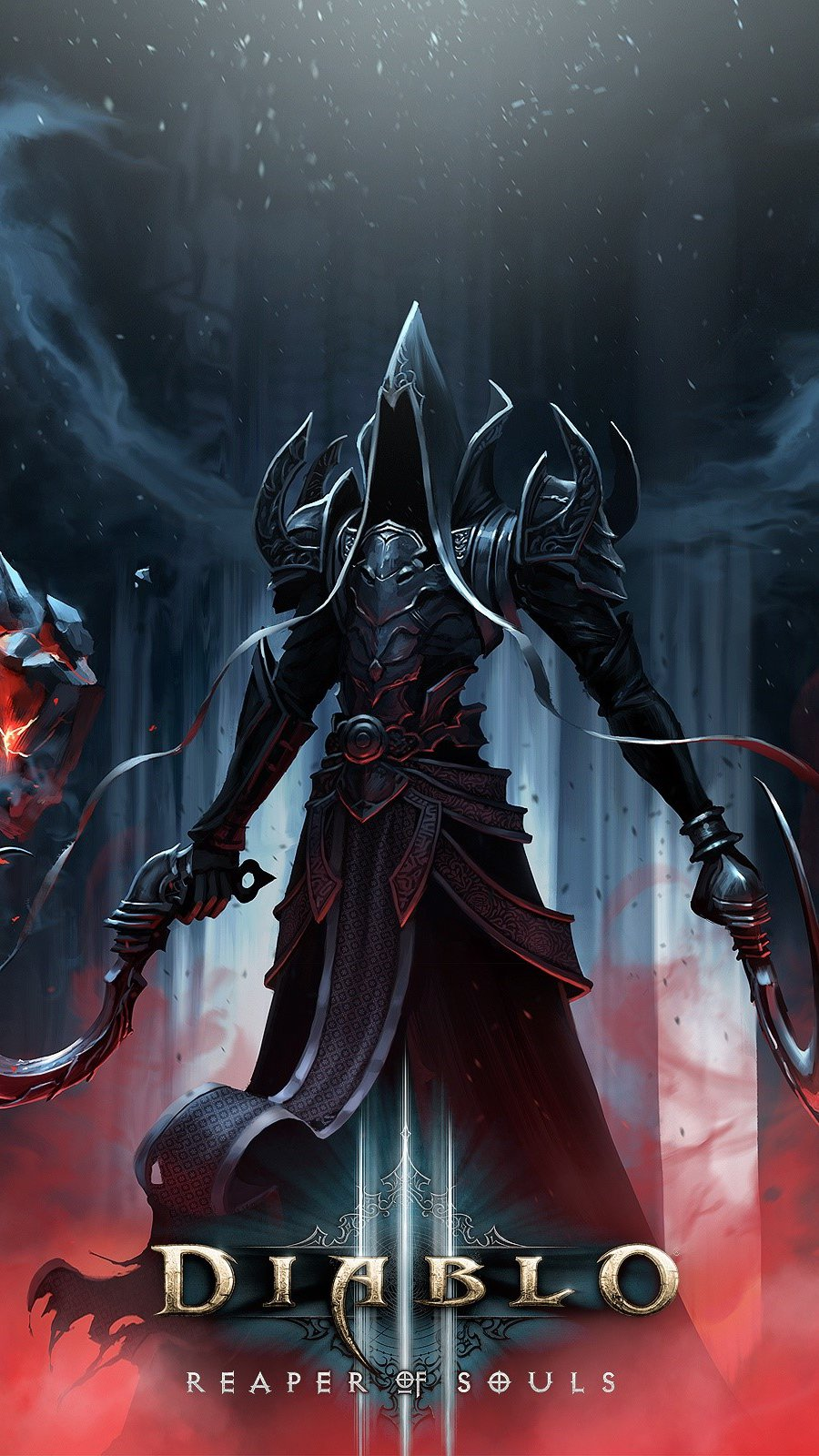 Wallpaper Diablo 3 Reaper of souls Vertical