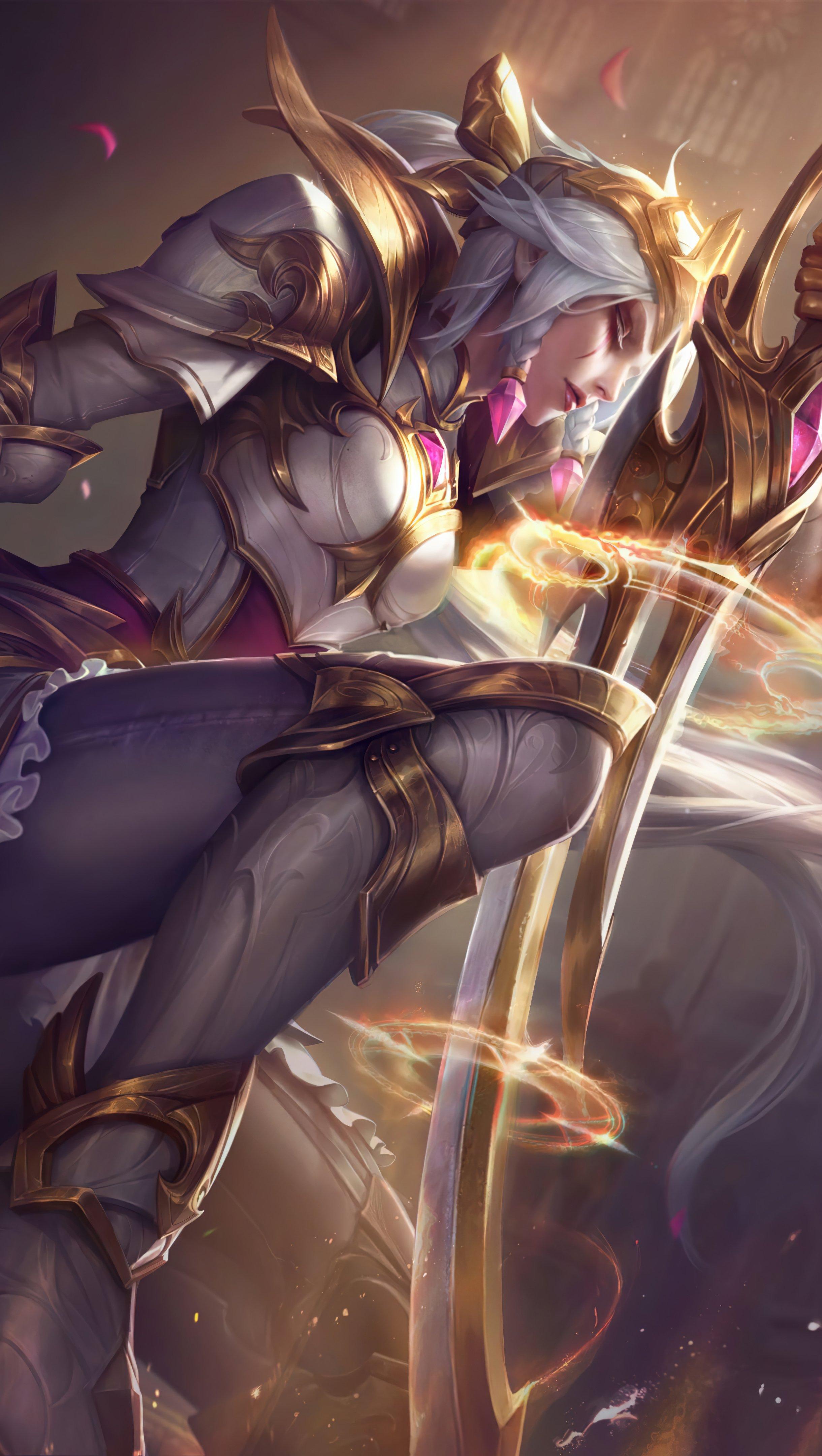 Fondos de pantalla Diana de League of Legends Vertical