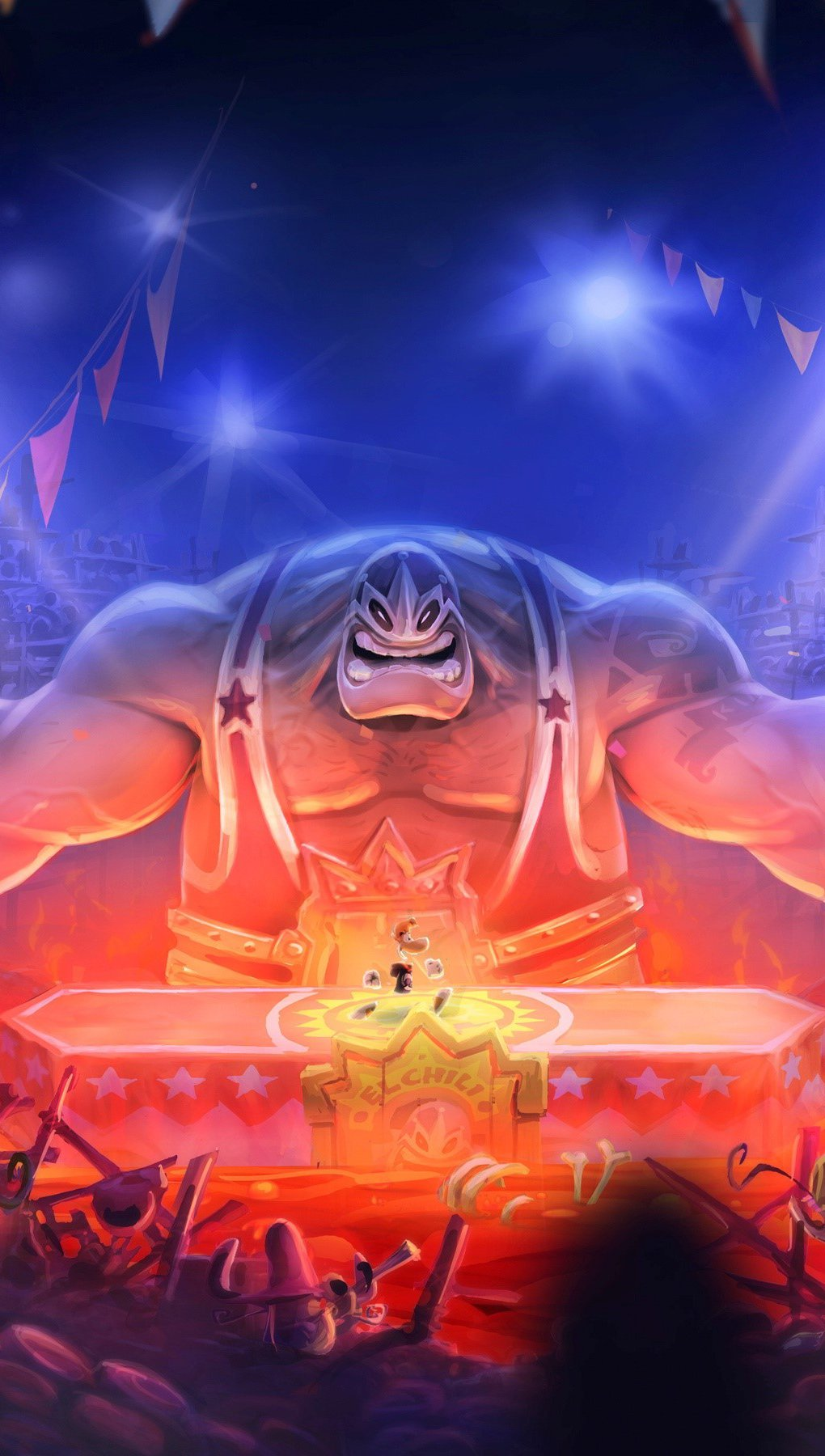 Fondos de pantalla Dibujo de Rayman legends Vertical