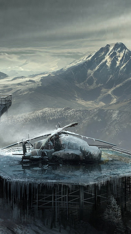 Fondos de pantalla Dibujo de Rise Of The Tomb Raider Vertical