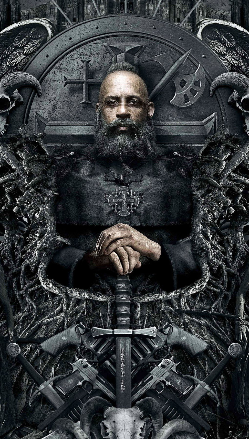 Wallpaper Diesel in The Last Witch Hunter Vertical