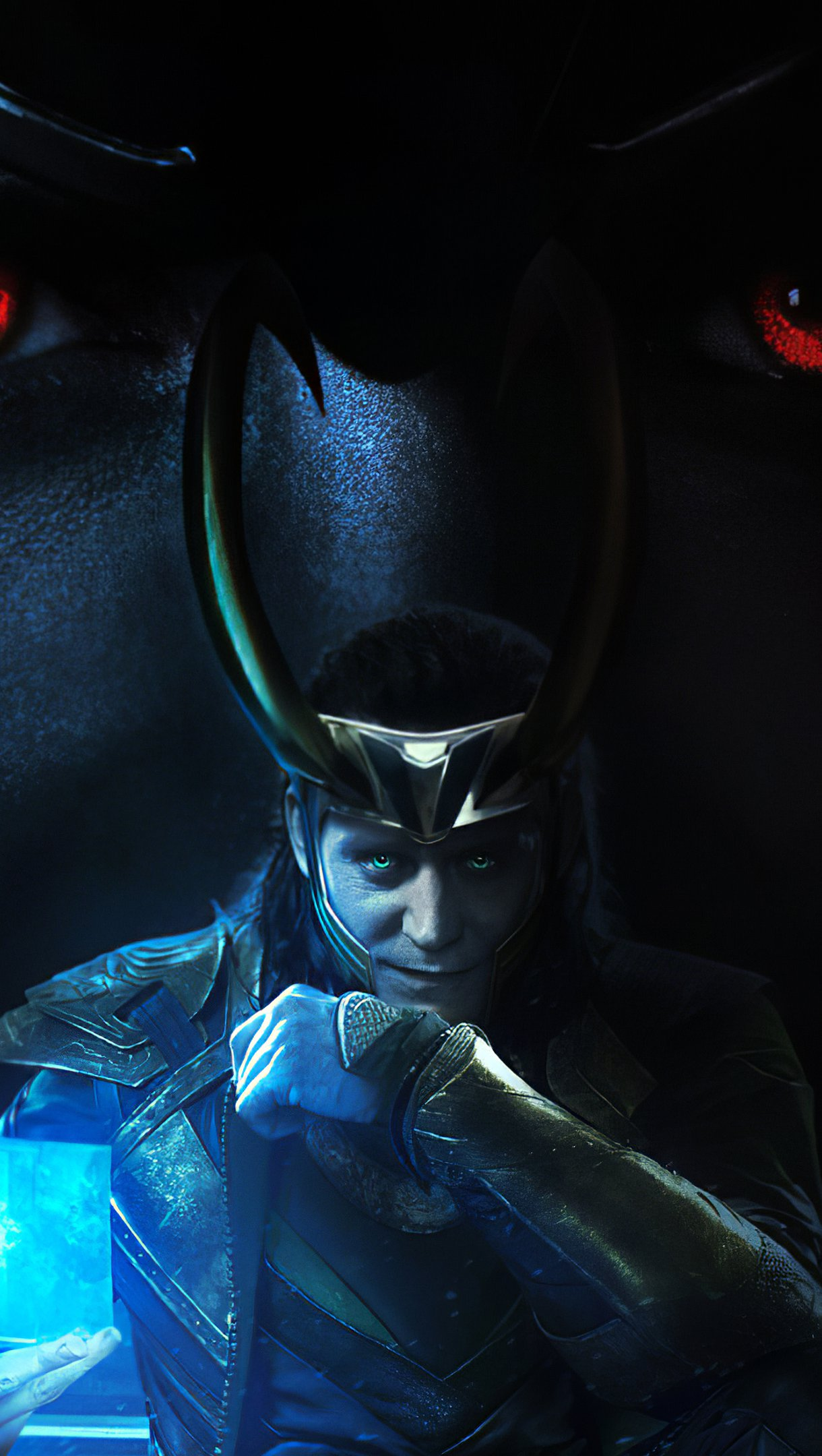 Wallpaper Dios Loki Vertical