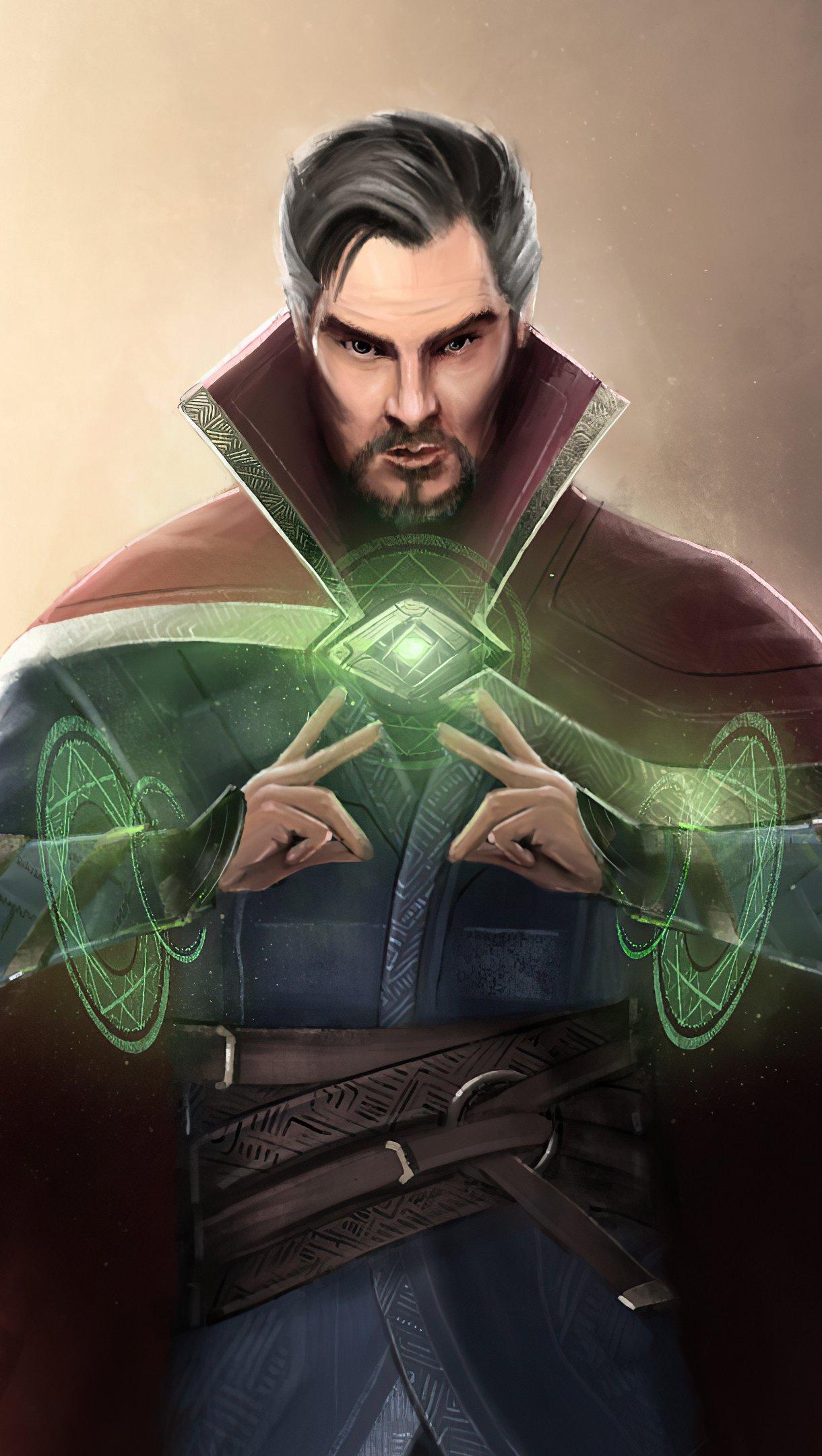 Fondos de pantalla Doctor Strange Arte 2020 Vertical