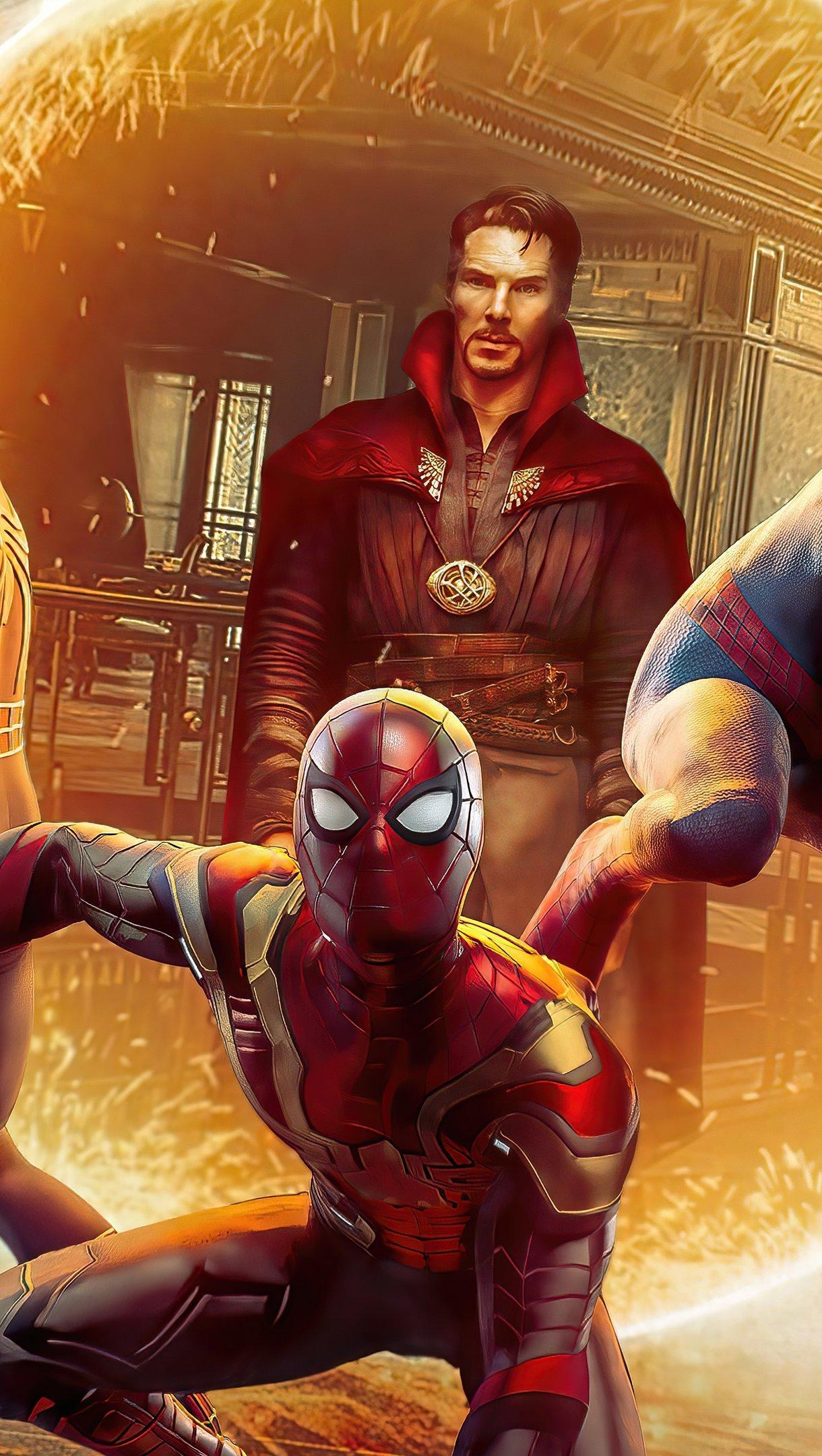 Wallpaper Doctor Strange in Spider Man No way home Vertical