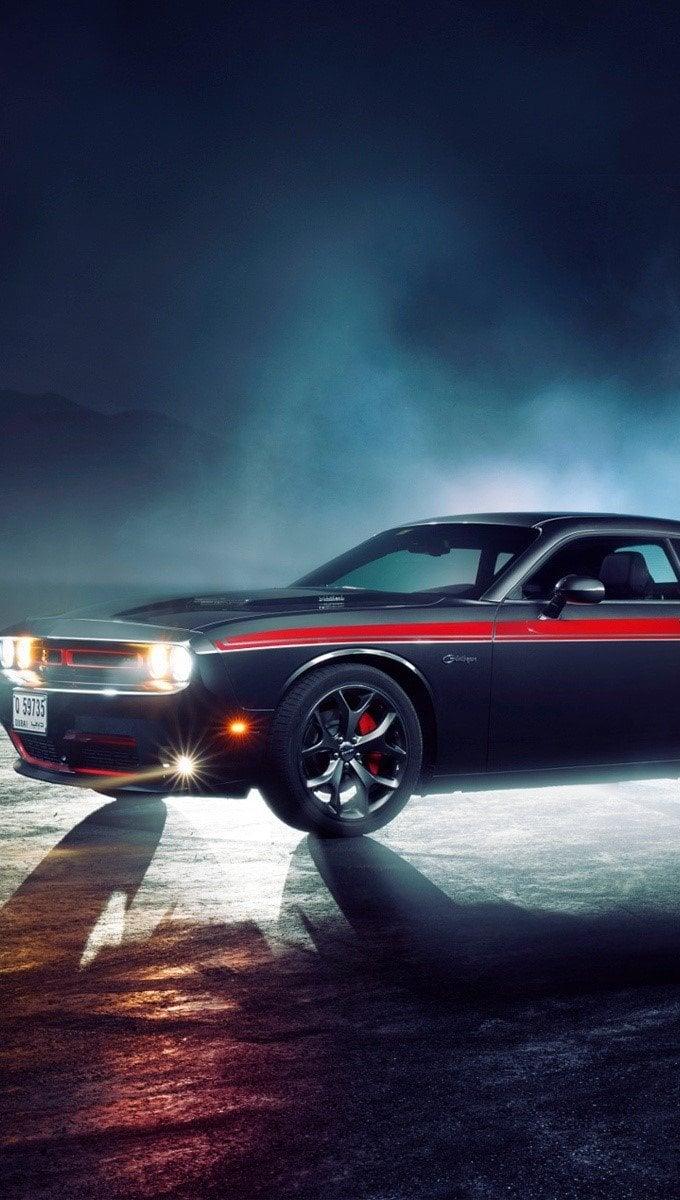 Fondos de pantalla Dodge Challenger RT Vertical