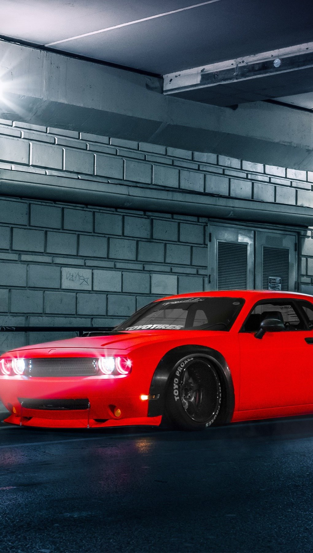 Wallpaper Dodge Challenger SRT Vertical
