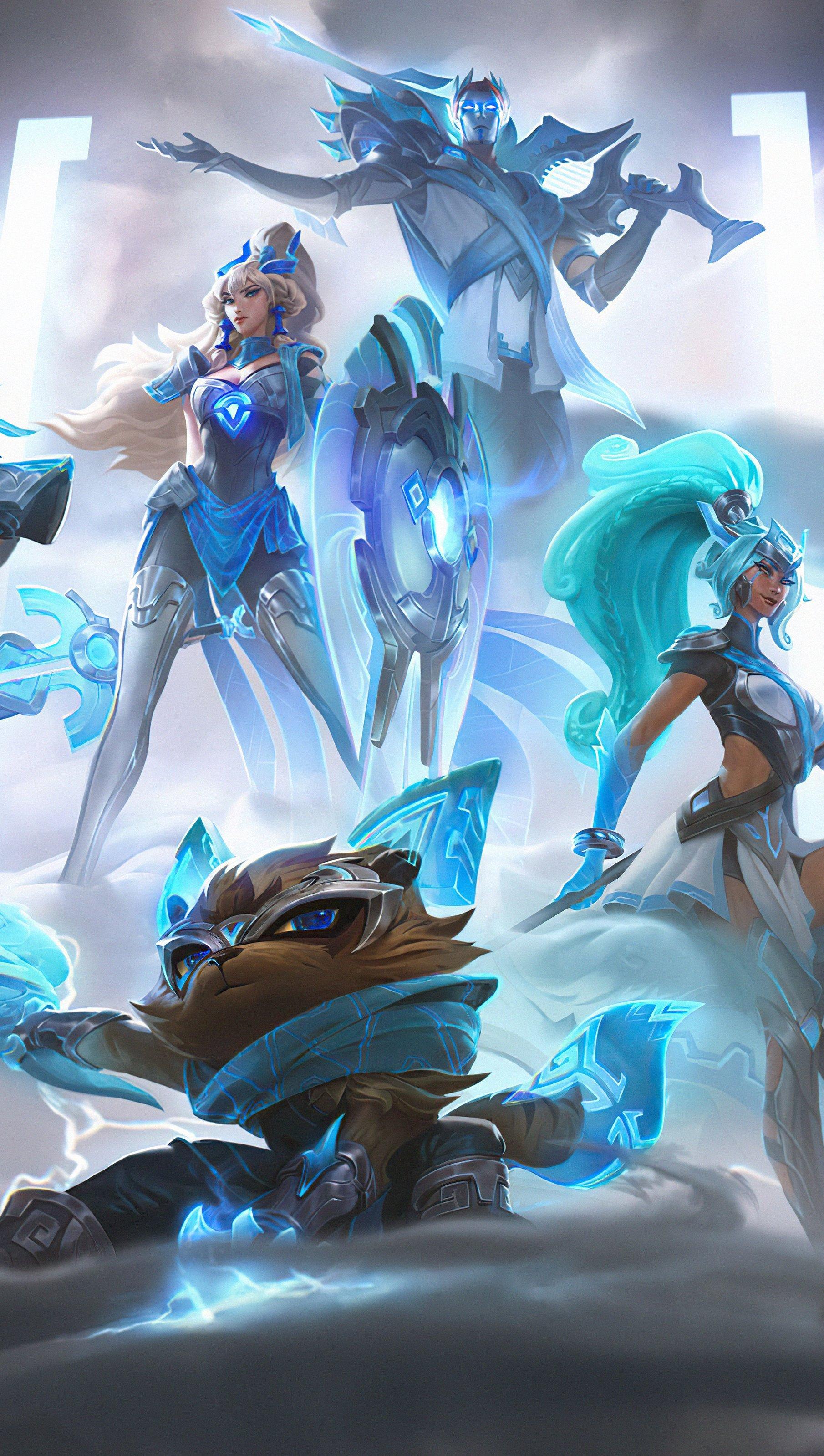 Wallpaper Domwon Gaming League of Legends Vertical