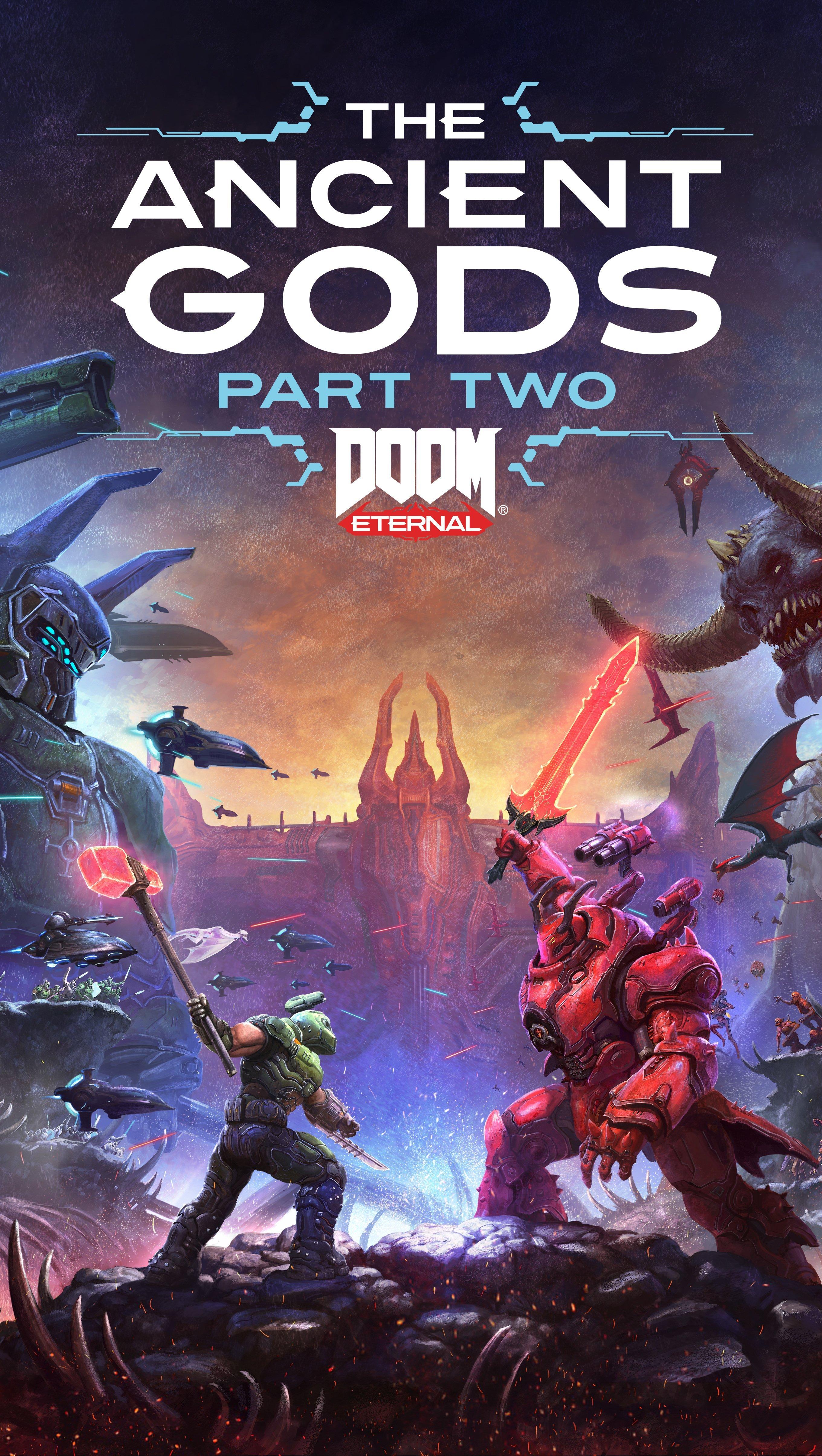 Fondos de pantalla Doom Eternal The Ancient Gods Part Two Vertical