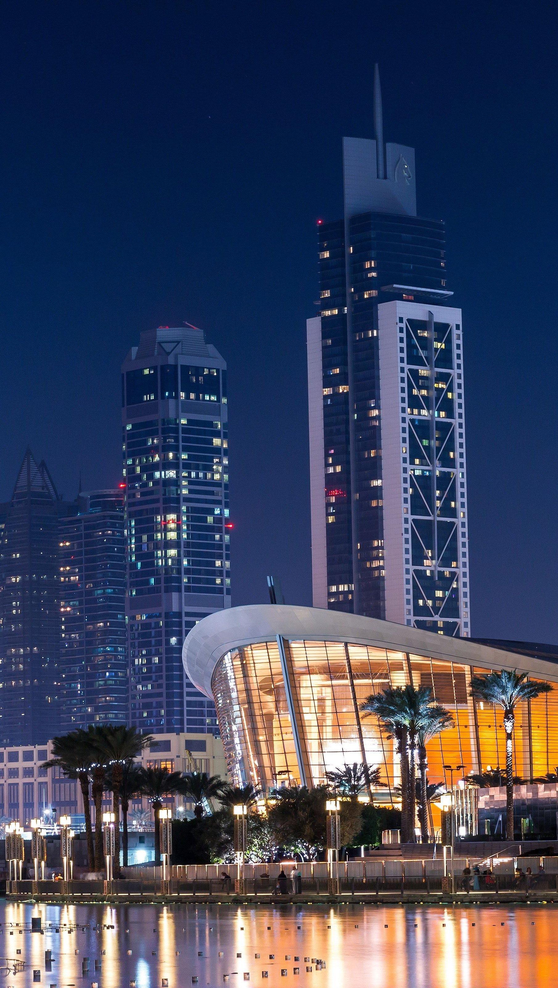 Wallpaper Downtown Dubai Vertical
