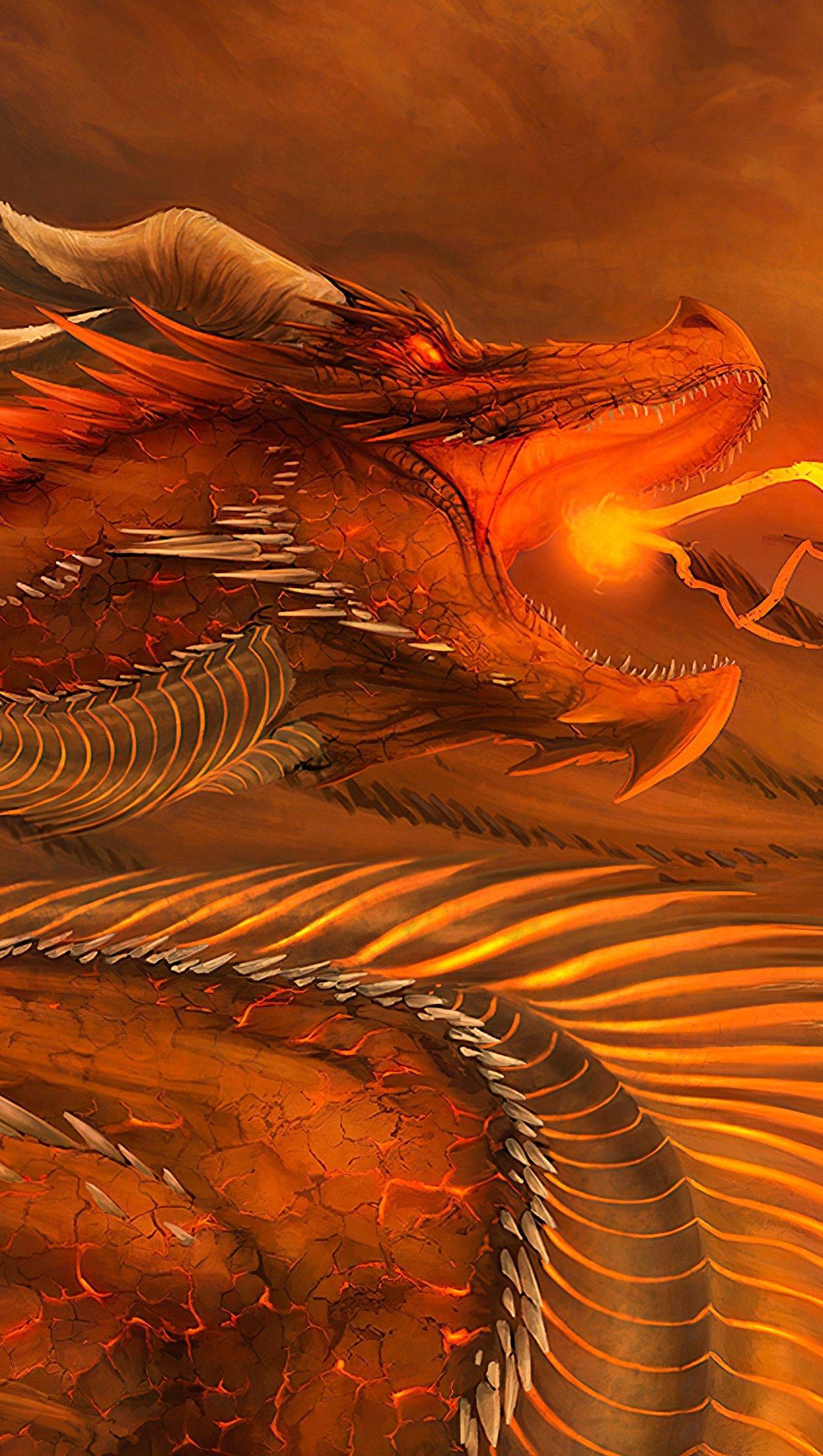 Fondos de pantalla Dragón Vertical